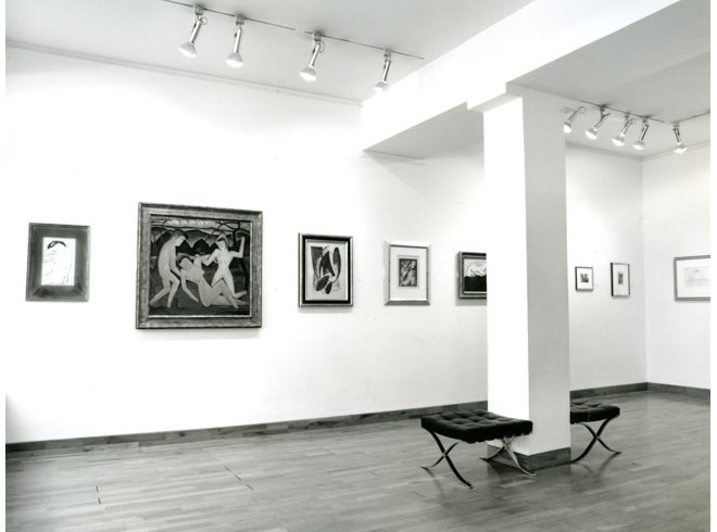 """<span class=""""link fancybox-details-link""""><a href=""""/exhibitions/217/works/image_standalone1061/"""">View Detail Page</a></span><p>MAN RAY AND ROLAND PENROSE   TWO OLD PALS   26 JUN - 31 AUG 1990   Installation View</p>"""