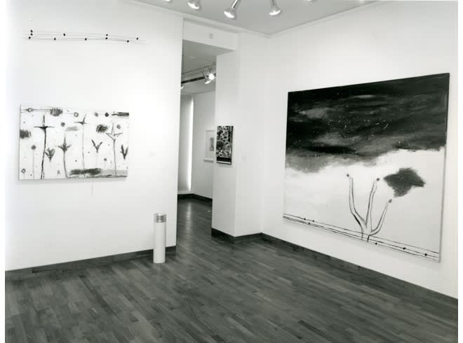 """<span class=""""link fancybox-details-link""""><a href=""""/exhibitions/255/works/image_standalone1318/"""">View Detail Page</a></span><p>NICOLA DE MARIA   24 JUN - 31 JUL 1985   Installation View</p>"""