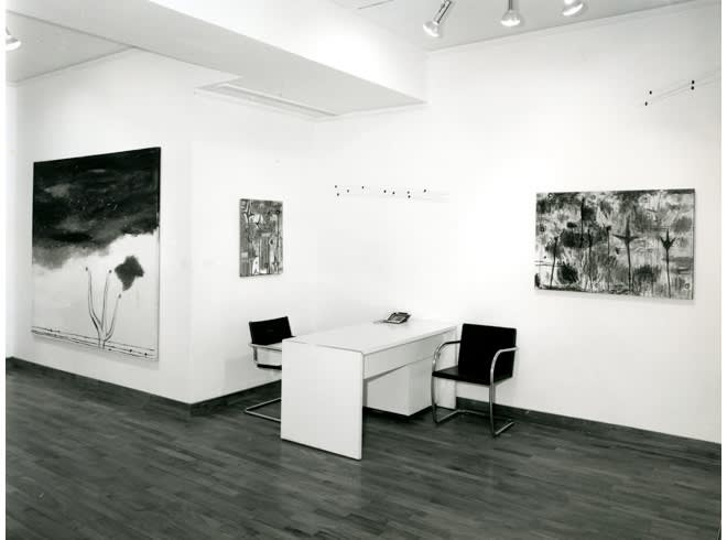 """<span class=""""link fancybox-details-link""""><a href=""""/exhibitions/255/works/image_standalone1319/"""">View Detail Page</a></span><p>NICOLA DE MARIA   24 JUN - 31 JUL 1985   Installation View</p>"""