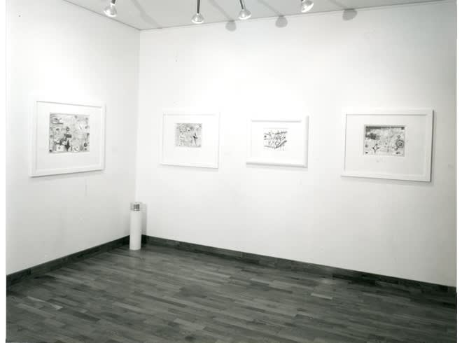 """<span class=""""link fancybox-details-link""""><a href=""""/exhibitions/255/works/image_standalone1322/"""">View Detail Page</a></span><p>NICOLA DE MARIA   24 JUN - 31 JUL 1985   Installation View</p>"""