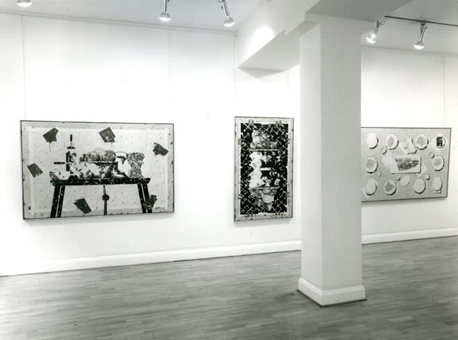 """<span class=""""link fancybox-details-link""""><a href=""""/exhibitions/283/works/image_standalone1440/"""">View Detail Page</a></span><p>TONY SCHERMAN   RECENT PAINTINGS   15 SEP - 10 OCT 1981   Installation View</p>"""