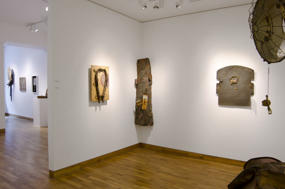 """<span class=""""link fancybox-details-link""""><a href=""""/exhibitions/76/works/image_standalone201/"""">View Detail Page</a></span><p>DO NOT REMOVE   BRUCE CONNER, GEORGE HERMS & ROBERT MALLARY   14 SEP - 26 OCT 2011   Installation View</p>"""