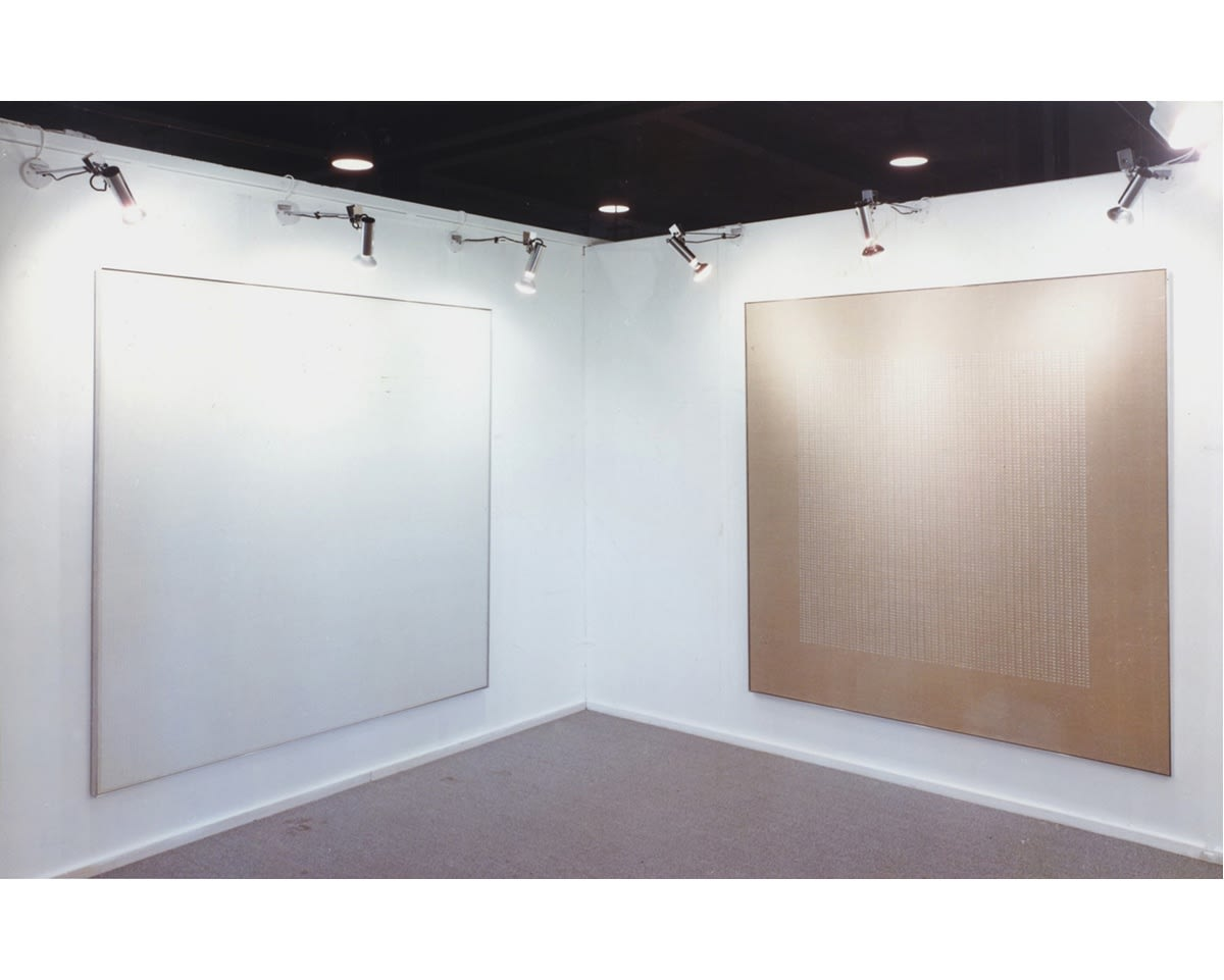 """<span class=""""link fancybox-details-link""""><a href=""""/exhibitions/313/works/image_standalone1528/"""">View Detail Page</a></span><p>AGNES MARTIN 