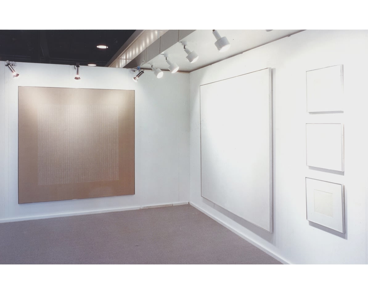 """<span class=""""link fancybox-details-link""""><a href=""""/exhibitions/313/works/image_standalone1530/"""">View Detail Page</a></span><p>AGNES MARTIN 