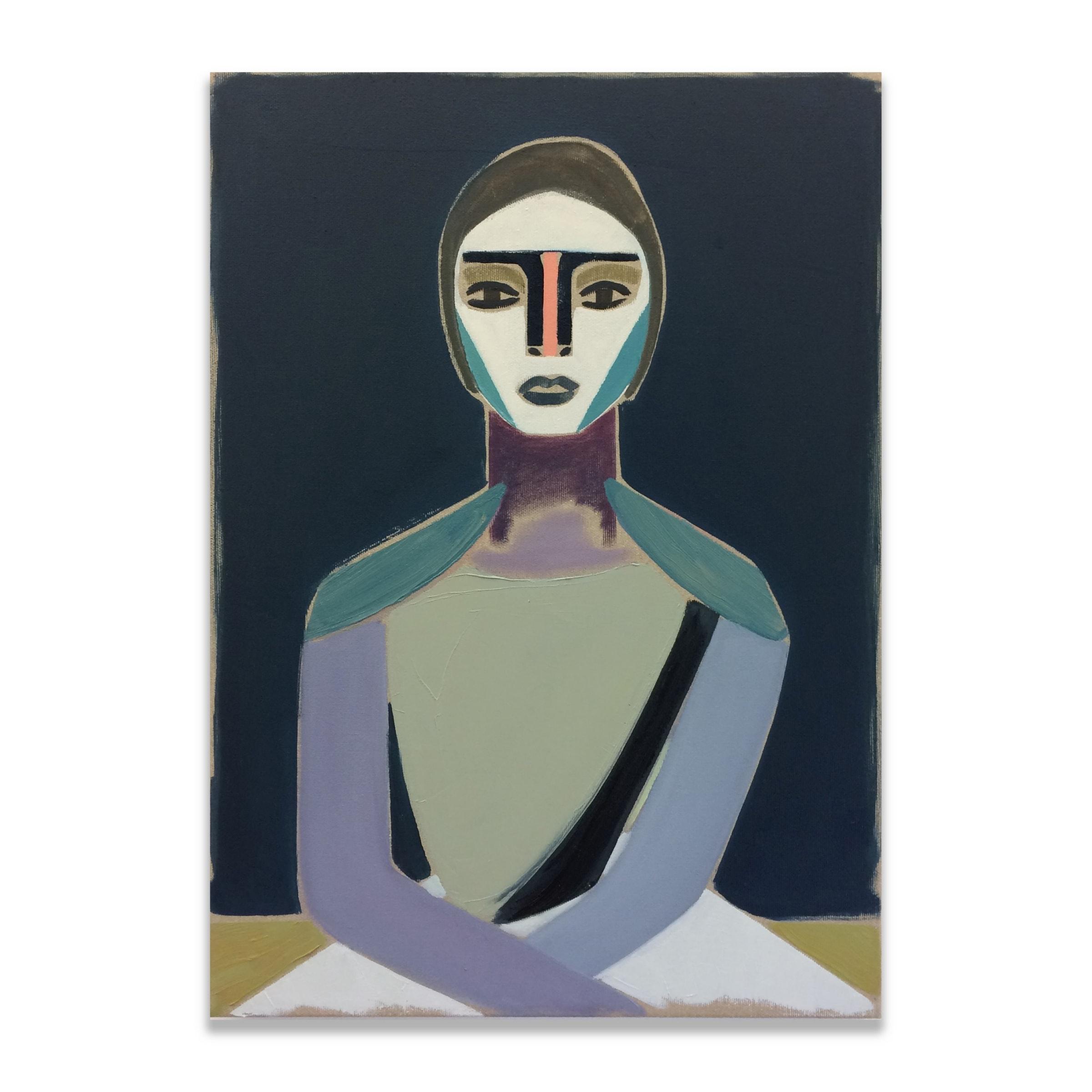 885ac447c Henrik Godsk, 'The Drifter', oil on canvas, 50 x 36cm