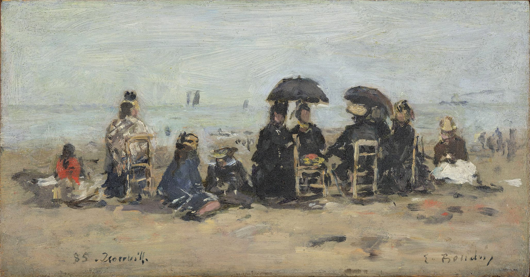 "<span class=""link fancybox-details-link""><a href=""/exhibitions/16/works/artworks_standalone9380/"">View Detail Page</a></span><div class=""signed_and_dated"">Signed lower right ""E.Boudin"" and inscribed lower left ""85 Trouville""</div>