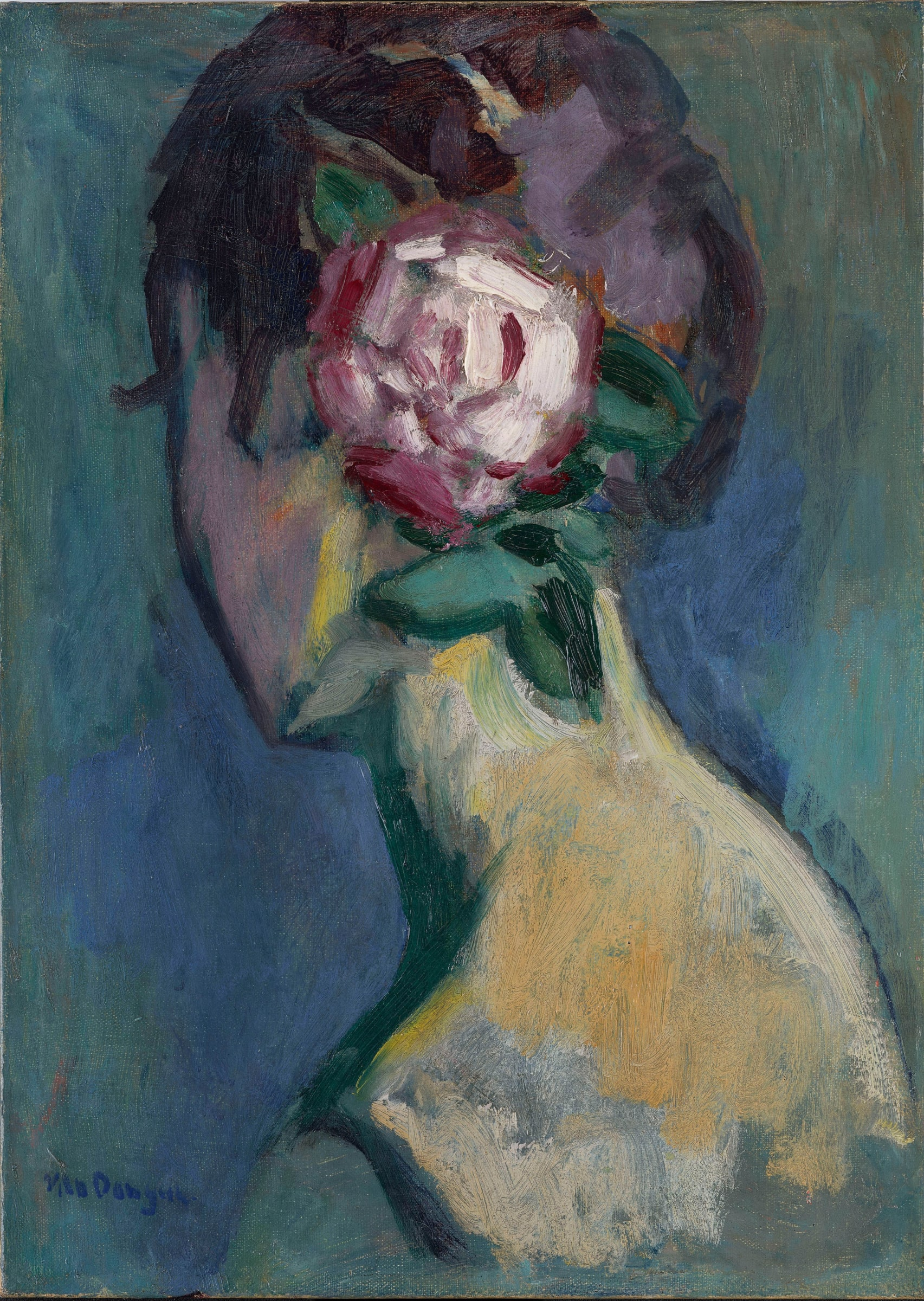 "<span class=""link fancybox-details-link""><a href=""/artists/79-kees-van-dongen/works/9447-kees-van-dongen-femme-a-la-rose-c.1925/"">View Detail Page</a></span><div class=""artist""><span class=""artist""><strong>Kees Van Dongen</strong></span></div>