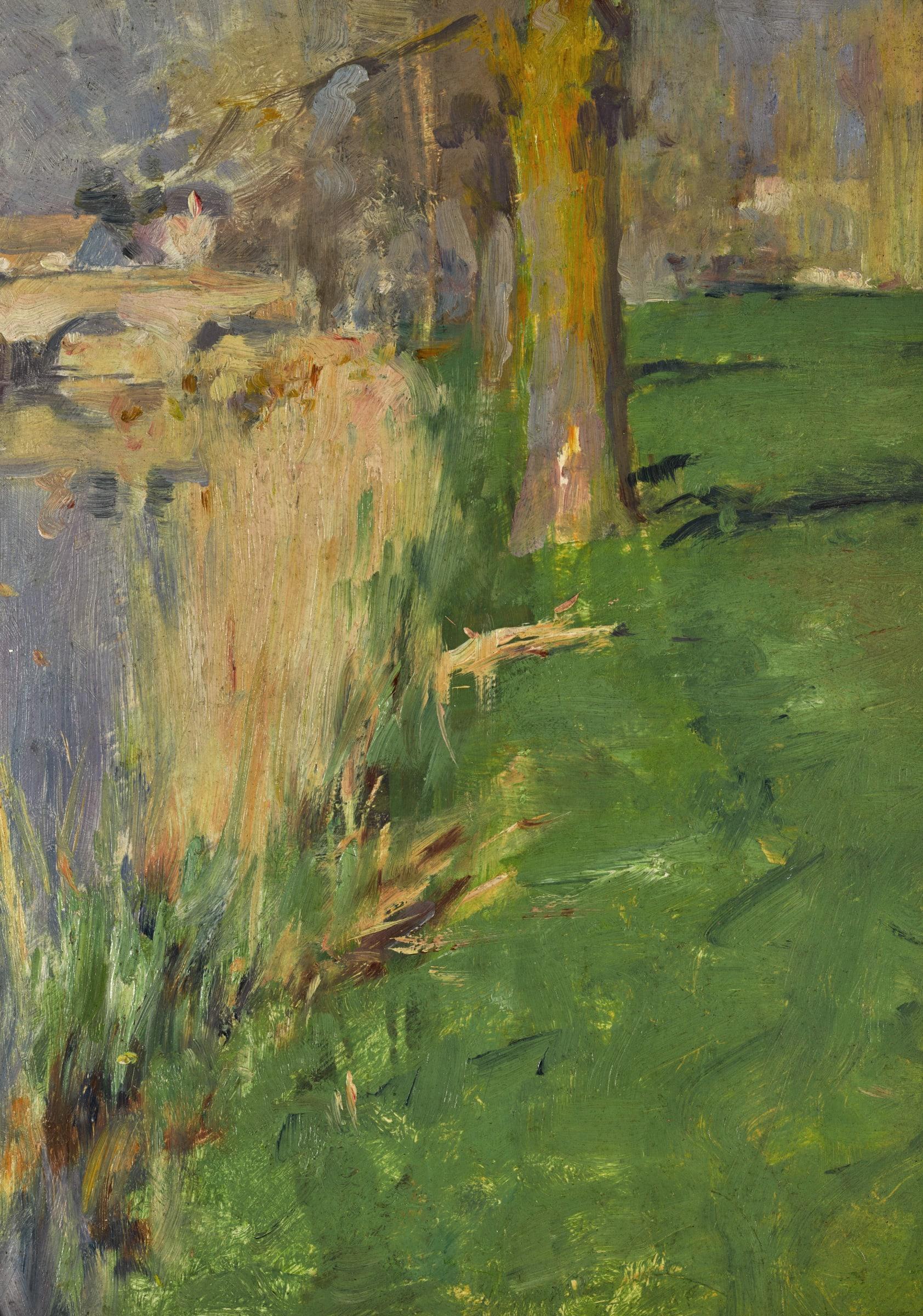 <span class=&#34;link fancybox-details-link&#34;><a href=&#34;/artists/87-robert-william-vonnoh/works/9443-robert-william-vonnoh-vue-du-pont-grez-sur-loing-c.a-1886/&#34;>View Detail Page</a></span><div class=&#34;artist&#34;><span class=&#34;artist&#34;><strong>Robert William Vonnoh</strong></span></div><div class=&#34;title&#34;><em>Vue du pont à Grez-sur-Loing</em>, c.a 1886</div><div class=&#34;medium&#34;>Oil on panel</div><div class=&#34;dimensions&#34;>33 x 22.9 cm<br /> 13 x 9 inches<br /> </div>