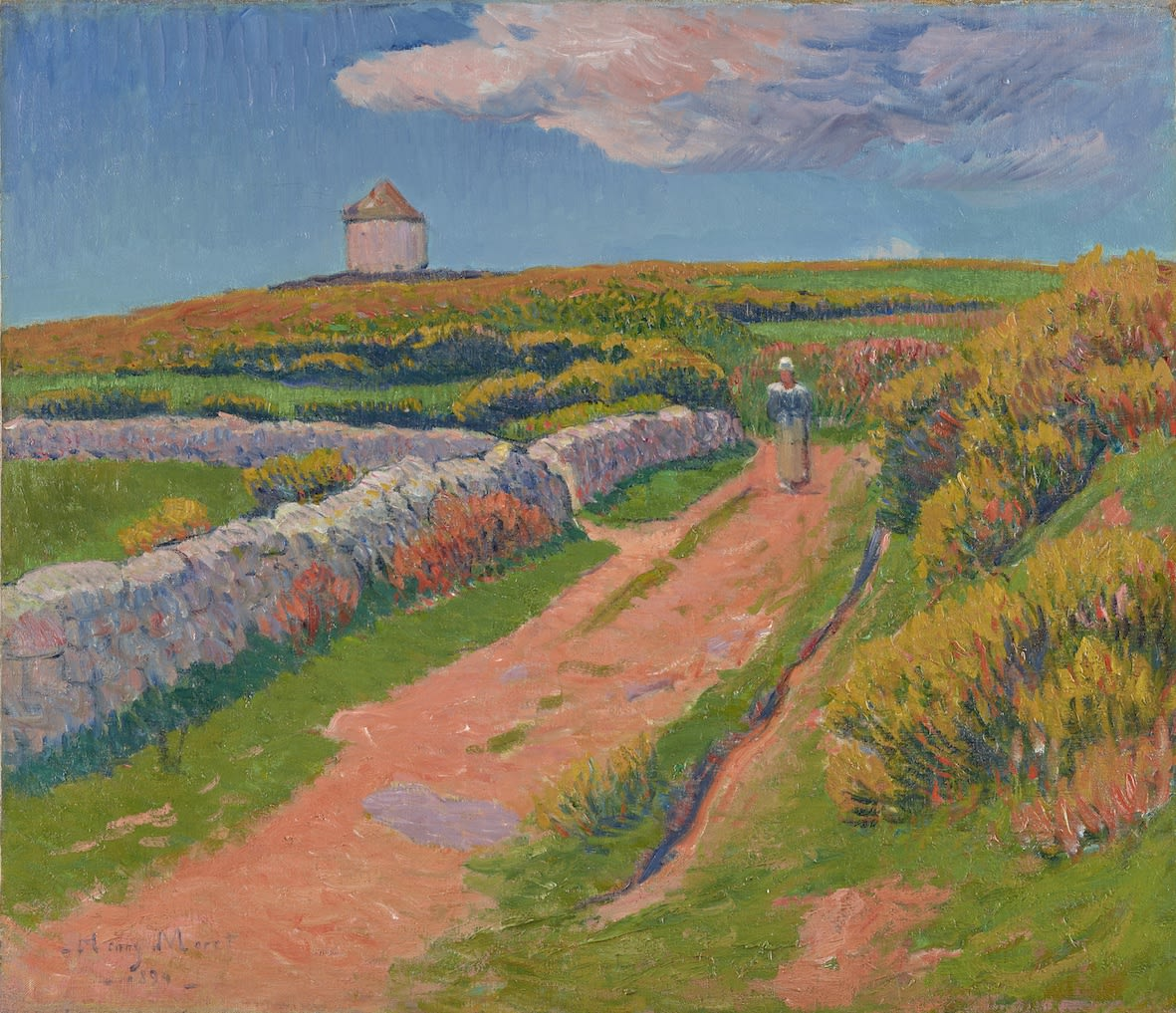 "<span class=""link fancybox-details-link""><a href=""/exhibitions/6/works/artworks_standalone9411/"">View Detail Page</a></span><div class=""signed_and_dated"">Signed and dated lower left Henry Moret 1894</div>