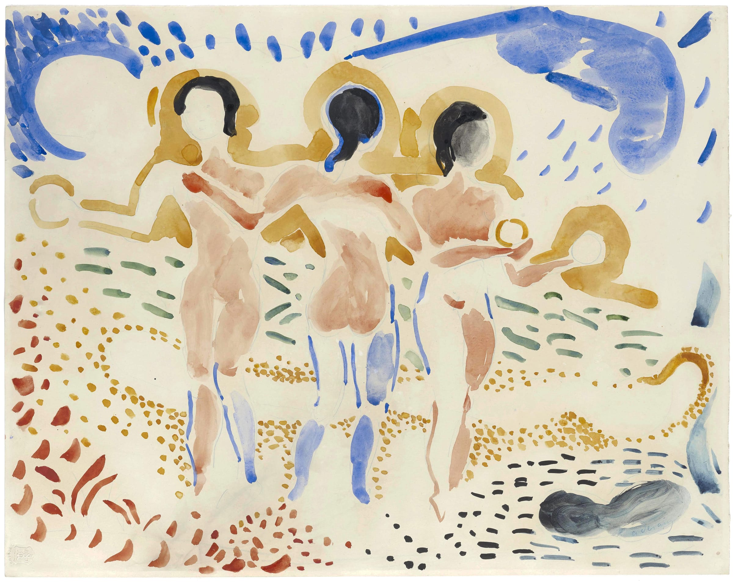 "<span class=""link fancybox-details-link""><a href=""/exhibitions/6/works/artworks_standalone9388/"">View Detail Page</a></span><div class=""signed_and_dated"">Signed lower right a.derain Watermark Bristol lower left</div>