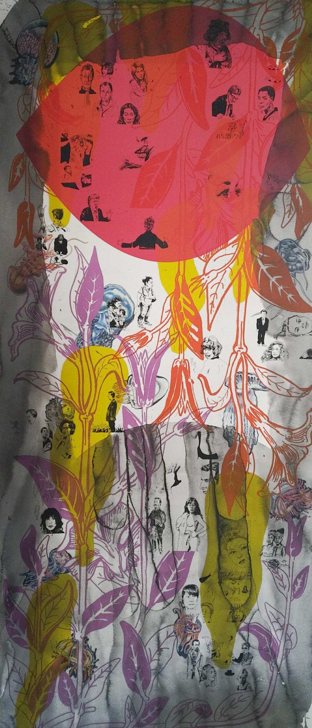 <span class=&#34;link fancybox-details-link&#34;><a href=&#34;/artists/51-florentine-%26-alexandre-lamarche-ovize/works/9591/&#34;>View Detail Page</a></span><div class=&#34;artist&#34;><strong>Florentine & Alexandre LAMARCHE-OVIZE</strong></div> <div class=&#34;title&#34;><em>The never ending picture</em>, 2018</div> <div class=&#34;medium&#34;>silkscreen and ink</div> <div class=&#34;dimensions&#34;>106 x 240 cm<br /> 41 3/4 x 94 1/2 in</div> <div class=&#34;edition_details&#34;>Edition of 3</div><div class=&#34;copyright_line&#34;>Copyright The Artist</div>