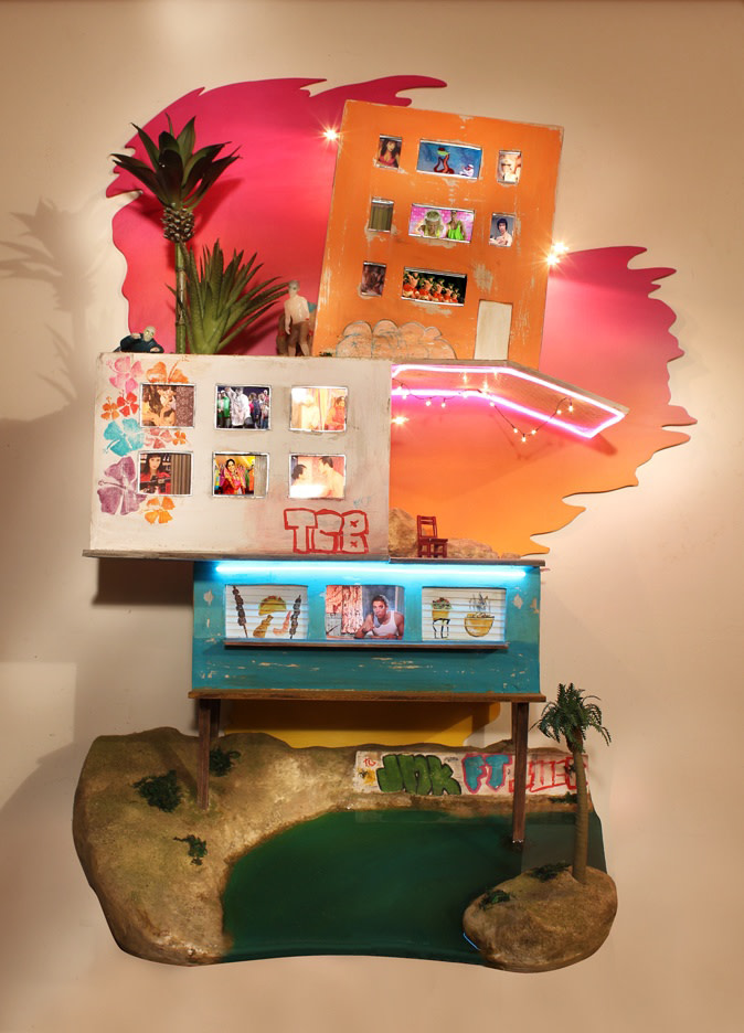 <span class=&#34;link fancybox-details-link&#34;><a href=&#34;/exhibitions/30/works/artworks5961/&#34;>View Detail Page</a></span><div class=&#34;medium&#34;>Wood, paint, lights, electroluminescent wire, fake landscaping and water, lcd screens, media players, speakers, transformer</div> <div class=&#34;dimensions&#34;>79 x 54 x 30 cm<br /> 31 1/8 x 21 1/4 x 11 3/4 in</div>