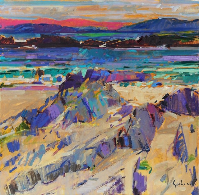 "<span class=""link fancybox-details-link""><a href=""/artists/31-peter-graham-roi/works/3150-peter-graham-roi-view-to-ballygown-bay-from-iona/"">View Detail Page</a></span><div class=""artist""><strong>Peter Graham ROI</strong></div> <div class=""title""><em>View to Ballygown Bay from Iona</em></div> <div class=""medium"">Oil on Canvas</div> <div class=""dimensions"">61 x 61 cm </div><div class=""price"">£5,900.00</div>"