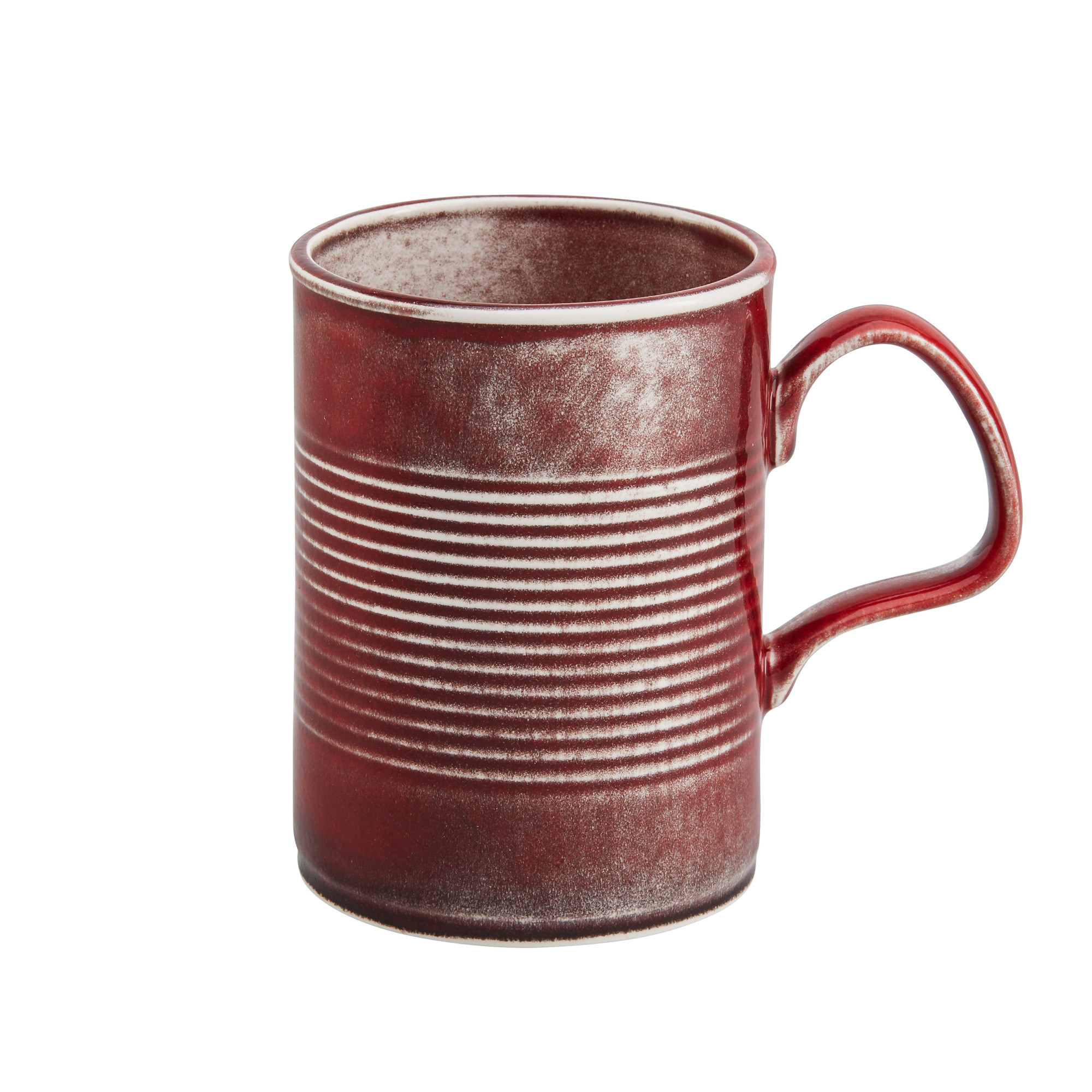 "<span class=""link fancybox-details-link""><a href=""/artists/37-stolen-form/works/1014-stolen-form-tin-can-mug-large-red-2017/"">View Detail Page</a></span><div class=""artist""><strong>Stolen Form</strong></div> <div class=""title""><em>Tin Can Mug - Large - Red</em>, 2017</div> <div class=""medium"">Ceramic</div> <div class=""dimensions"">10.5 x 7.5 x 12 cm</div> <div class=""edition_details""></div><div class=""copyright_line"">Copyright The Artist</div>"