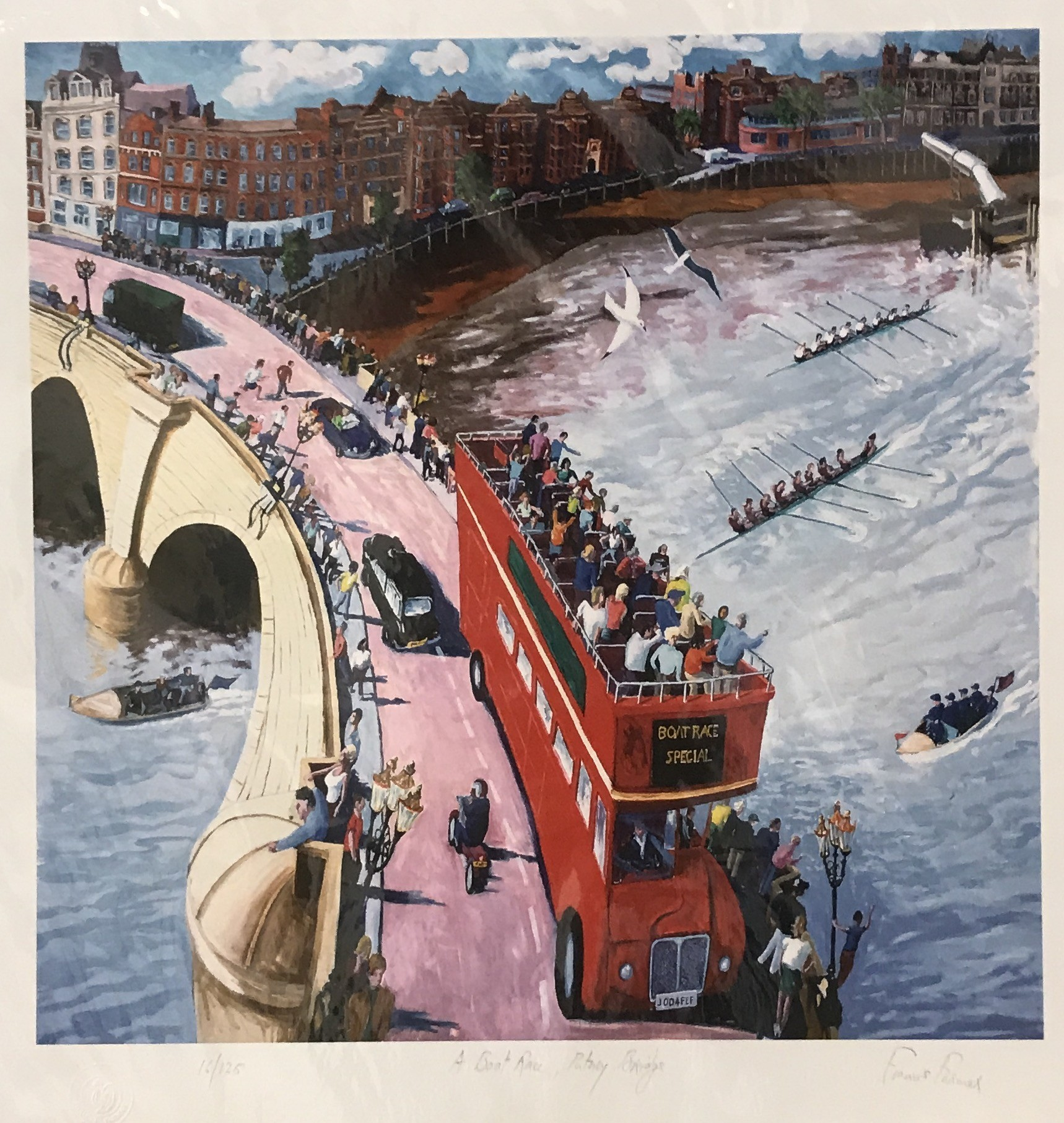 <span class=&#34;link fancybox-details-link&#34;><a href=&#34;/artists/35-francis-farmer/works/95-francis-farmer-london-boat-race/&#34;>View Detail Page</a></span><div class=&#34;artist&#34;><strong>Francis Farmer</strong></div> <div class=&#34;title&#34;><em>London Boat Race</em></div> <div class=&#34;medium&#34;>Limited Edition Print (framed)</div> <div class=&#34;dimensions&#34;>48 x 48 cm</div> <div class=&#34;edition_details&#34;>16/125</div><div class=&#34;price&#34;>£250.00</div>