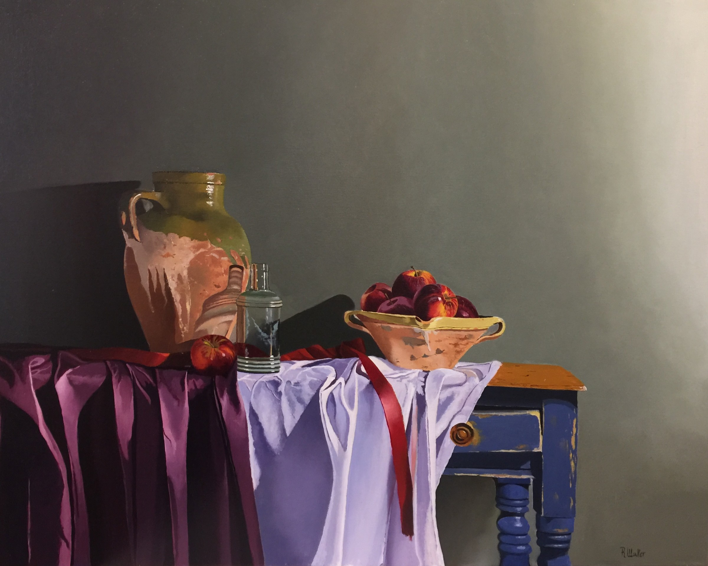 <span class=&#34;link fancybox-details-link&#34;><a href=&#34;/artists/67-robert-walker/works/1951-robert-walker-red-ribbon-and-apple-bowl-in-hong-kong/&#34;>View Detail Page</a></span><div class=&#34;artist&#34;><strong>Robert Walker</strong></div> <div class=&#34;title&#34;><em>Red Ribbon and Apple Bowl</em>, In Hong Kong</div> <div class=&#34;medium&#34;>Oil on Linen </div> <div class=&#34;dimensions&#34;>64 x 79 cm</div><div class=&#34;copyright_line&#34;>Copyright The Artist</div>