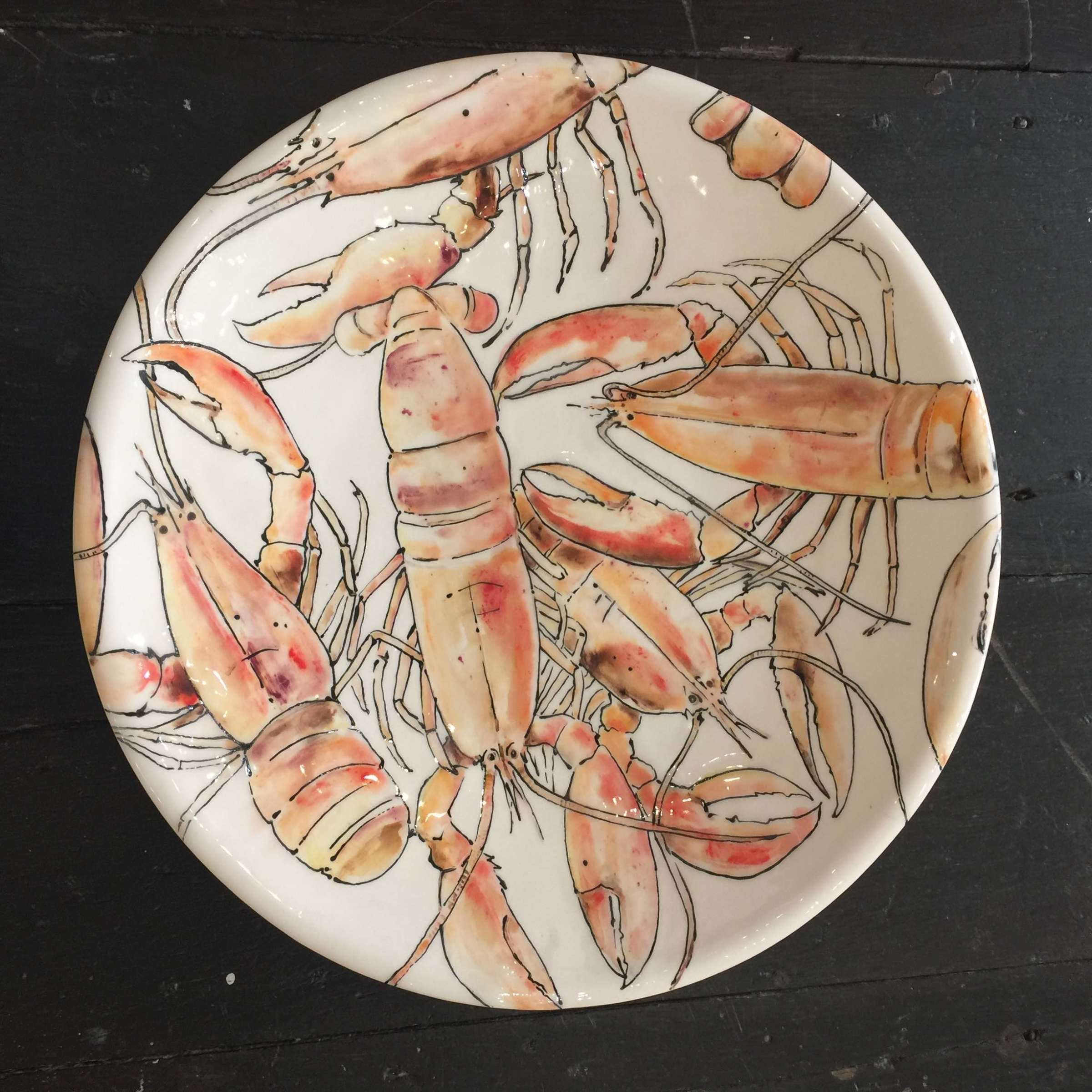 <span class=&#34;link fancybox-details-link&#34;><a href=&#34;/artists/33-kerry-edwards/works/2388-kerry-edwards-lobsters/&#34;>View Detail Page</a></span><div class=&#34;artist&#34;><strong>Kerry Edwards</strong></div> <div class=&#34;title&#34;><em>Lobsters</em></div> <div class=&#34;medium&#34;>Ceramic</div> <div class=&#34;dimensions&#34;>43 cm diameter</div><div class=&#34;price&#34;>£195.00</div><div class=&#34;copyright_line&#34;>Copyright The Artist</div>