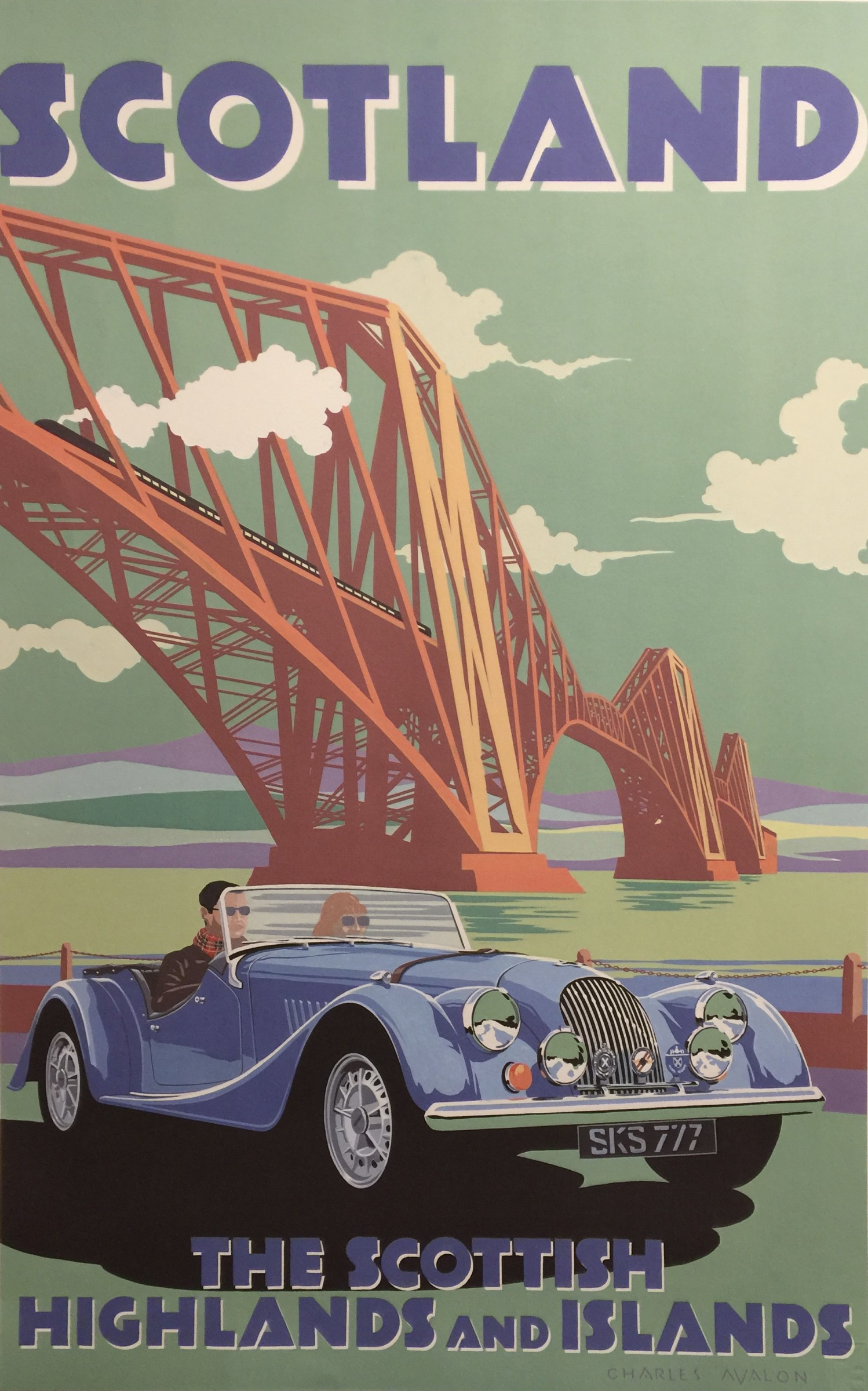 "<span class=""link fancybox-details-link""><a href=""/artists/55-charles-avalon/works/503-charles-avalon-morgan-plus-scotland/"">View Detail Page</a></span><div class=""artist""><strong>Charles Avalon</strong></div> <div class=""title""><em>Morgan Plus  - Scotland</em></div> <div class=""medium"">Limited Edition Print</div> <div class=""dimensions"">97 x 64 cm</div> <div class=""edition_details"">45/280</div><div class=""price"">£412.50</div>"