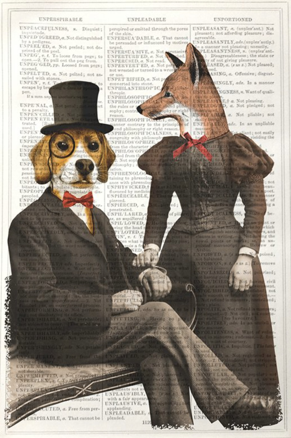 "<span class=""link fancybox-details-link""><a href=""/artists/203-framed-prints/works/1289-framed-prints-beagle-and-fox/"">View Detail Page</a></span><div class=""artist""><strong>Framed Prints</strong></div> <div class=""title""><em>Beagle and Fox </em></div> <div class=""medium"">Vintage Dictionary Print </div> <div class=""dimensions"">25 x 17 cm</div> <div class=""edition_details""></div><div class=""price"">£20.83</div><div class=""copyright_line"">Copyright The Artist</div>"