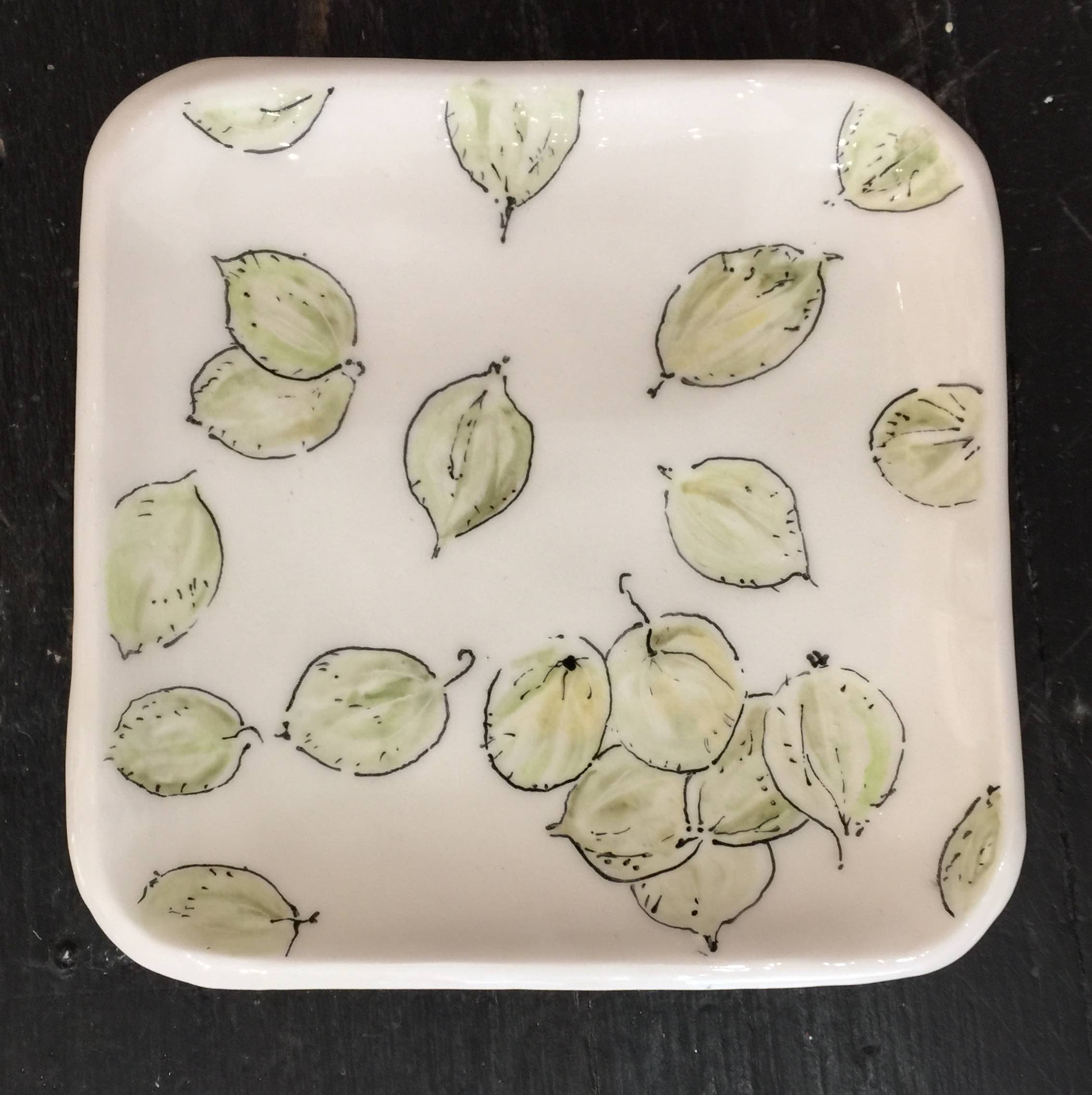 <span class=&#34;link fancybox-details-link&#34;><a href=&#34;/artists/33-kerry-edwards/works/2233-kerry-edwards-gooseberries/&#34;>View Detail Page</a></span><div class=&#34;artist&#34;><strong>Kerry Edwards</strong></div> <div class=&#34;title&#34;><em>Gooseberries </em></div> <div class=&#34;medium&#34;>Ceramic </div> <div class=&#34;dimensions&#34;>15.5 x 15.5 cm </div><div class=&#34;price&#34;>£45.00</div><div class=&#34;copyright_line&#34;>Copyright The Artist</div>