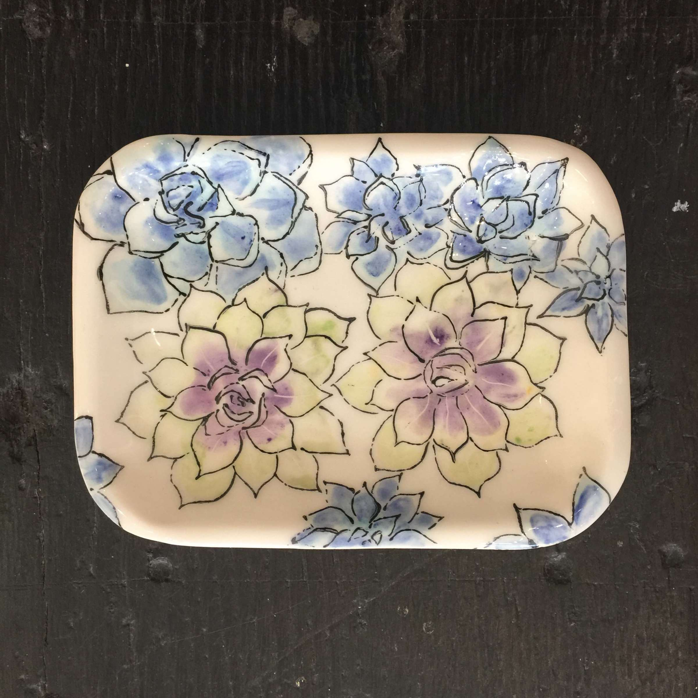 <span class=&#34;link fancybox-details-link&#34;><a href=&#34;/artists/33-kerry-edwards/works/2392-kerry-edwards-small-succulents-dish/&#34;>View Detail Page</a></span><div class=&#34;artist&#34;><strong>Kerry Edwards</strong></div> <div class=&#34;title&#34;><em>Small Succulents Dish</em></div> <div class=&#34;medium&#34;>Ceramic</div> <div class=&#34;dimensions&#34;>16 x 12 cm</div><div class=&#34;price&#34;>£40.00</div><div class=&#34;copyright_line&#34;>Copyright The Artist</div>