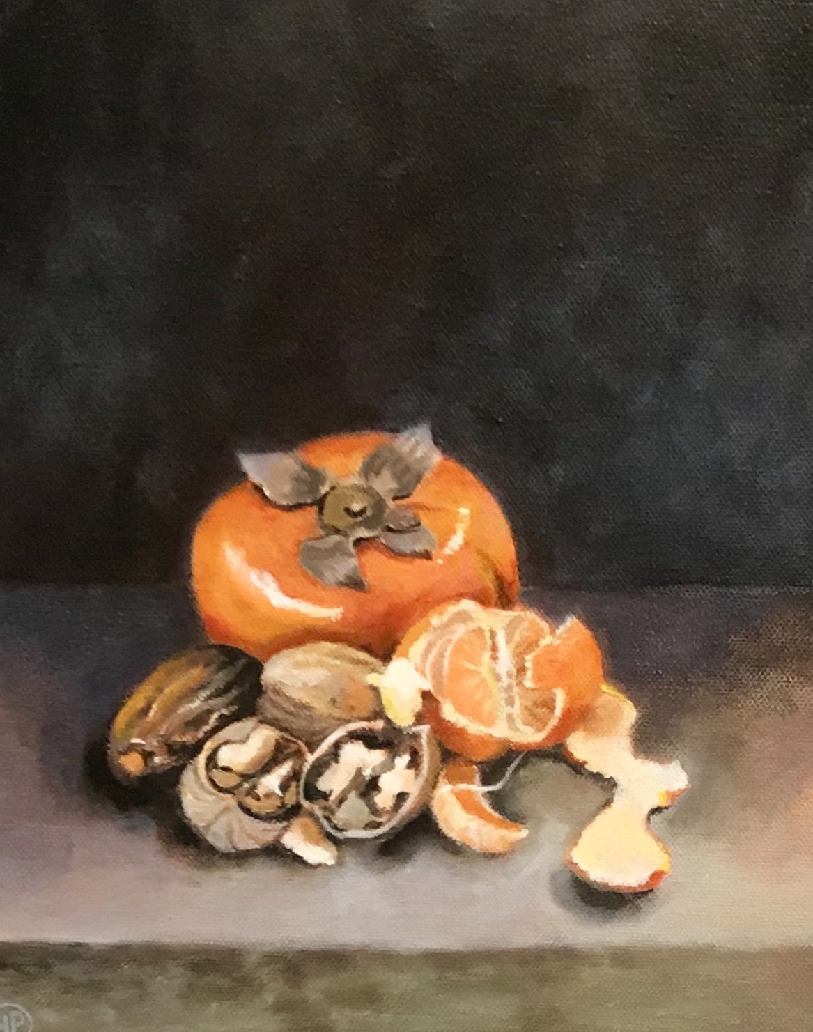 "<span class=""link fancybox-details-link""><a href=""/artists/34-joyce-pinch/works/2966-joyce-pinch-christmas-fruits/"">View Detail Page</a></span><div class=""artist""><strong>Joyce Pinch</strong></div> <div class=""title""><em>Christmas Fruits</em></div> <div class=""medium"">Acrylic on Canvas </div> <div class=""dimensions"">30 x 24 cm </div><div class=""copyright_line"">Copyright The Artist</div>"