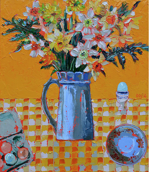 "<span class=""link fancybox-details-link""><a href=""/artists/202-lucy-doyle/works/2944-lucy-doyle-breakfast/"">View Detail Page</a></span><div class=""artist""><strong>Lucy Doyle</strong></div> <div class=""title""><em>Breakfast</em></div> <div class=""medium"">Oil on Canvas</div> <div class=""dimensions"">71 x 61cm (framed)</div><div class=""copyright_line"">Copyright The Artist</div>"