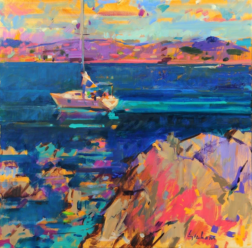"<span class=""link fancybox-details-link""><a href=""/artists/31-peter-graham-roi/works/3149-peter-graham-roi-golfe-de-saint-tropez/"">View Detail Page</a></span><div class=""artist""><strong>Peter Graham ROI</strong></div> <div class=""title""><em>Golfe de Saint-Tropez</em></div> <div class=""medium"">Oil on Canvas</div> <div class=""dimensions"">61 x 61 cm </div><div class=""price"">£5,900.00</div>"