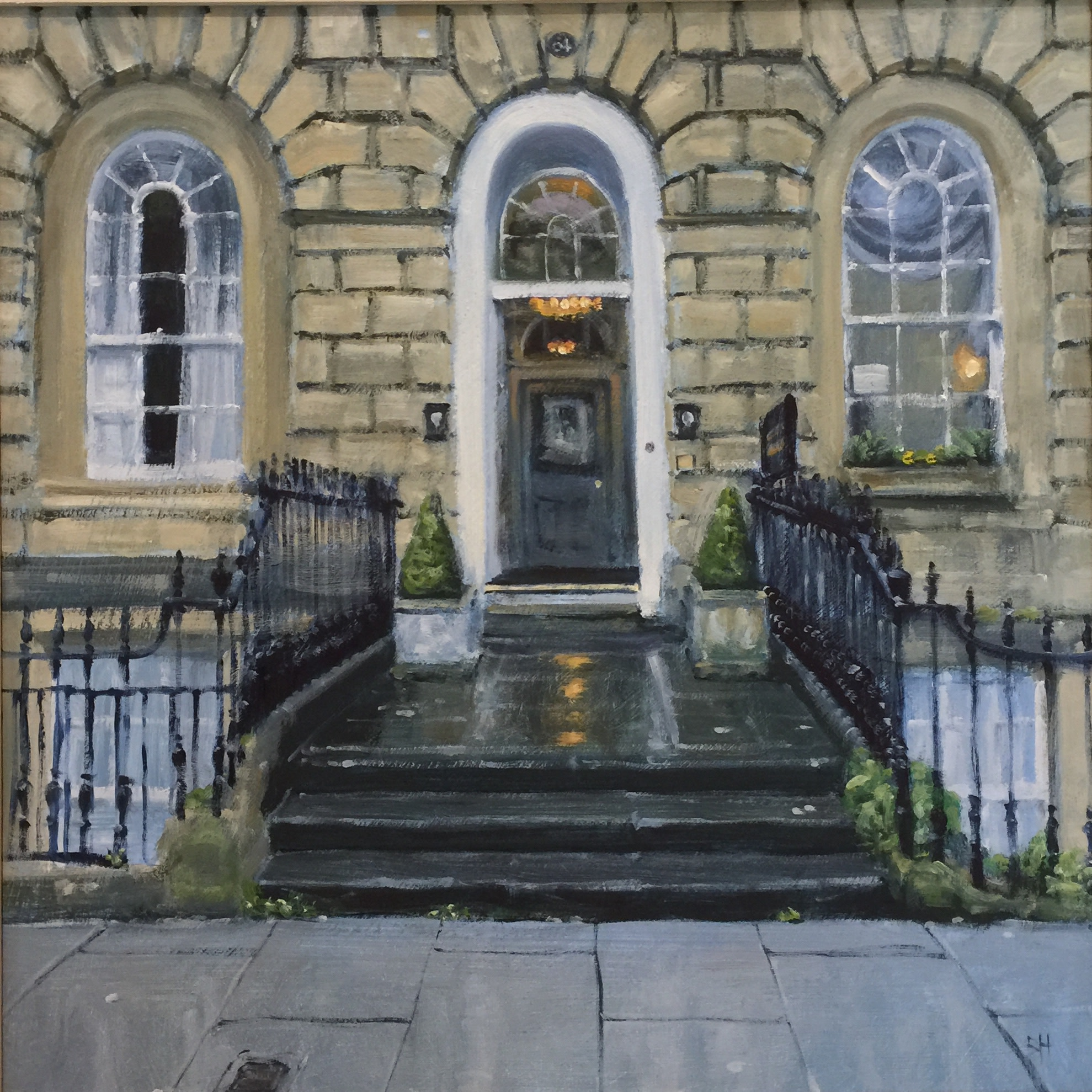 "<span class=""link fancybox-details-link""><a href=""/artists/181-ben-hughes/works/2774-ben-hughes-64-great-pulteney-street/"">View Detail Page</a></span><div class=""artist""><strong>Ben Hughes</strong></div> <div class=""title""><em>64, Great Pulteney Street </em></div> <div class=""medium"">Oil on Board</div> <div class=""dimensions"">30 x 30 cm </div><div class=""price"">£550.00</div><div class=""copyright_line"">Copyright The Artist</div>"