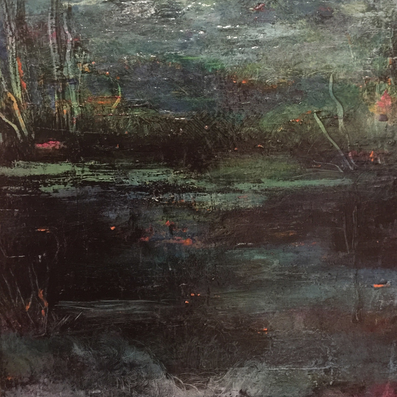 <span class=&#34;link fancybox-details-link&#34;><a href=&#34;/artists/38-linda-franklin/works/2651-linda-franklin-in-the-still-of-the-night/&#34;>View Detail Page</a></span><div class=&#34;artist&#34;><strong>Linda Franklin</strong></div> <div class=&#34;title&#34;><em>In The Still Of The Night </em></div> <div class=&#34;medium&#34;>Mixed Media on Canvas <br /> </div> <div class=&#34;dimensions&#34;>46 x 46 cm</div><div class=&#34;price&#34;>£850.00</div><div class=&#34;copyright_line&#34;>Copyright The Artist</div>
