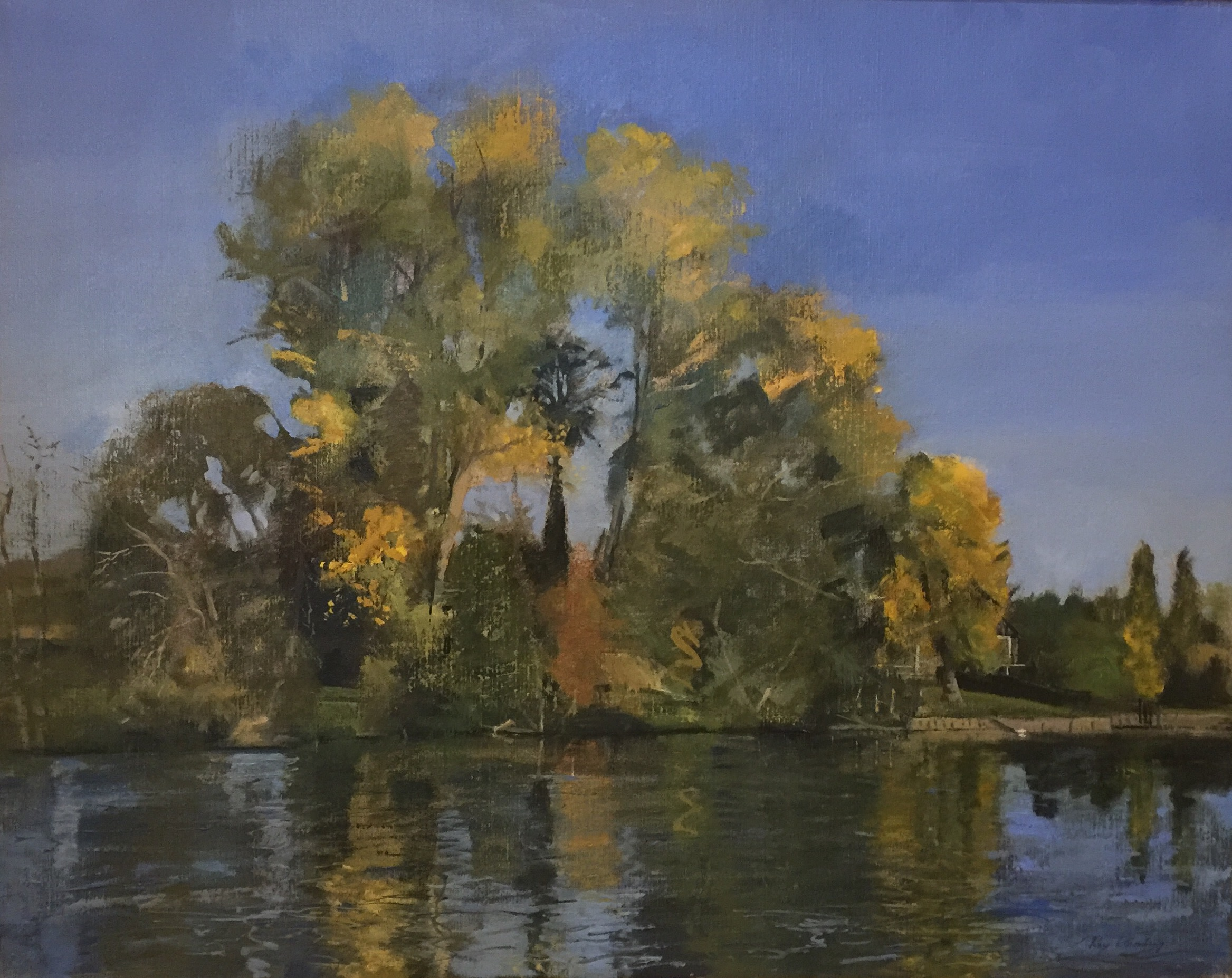 "<span class=""link fancybox-details-link""><a href=""/artists/63-roy-connelly/works/351-roy-connelly-river-thames-near-henley/"">View Detail Page</a></span><div class=""artist""><strong>Roy Connelly</strong></div> <div class=""title""><em>River Thames near Henley</em></div> <div class=""medium"">Oil on Canvas</div> <div class=""dimensions"">77 x 92 cm framed</div><div class=""price"">£2,200.00</div>"