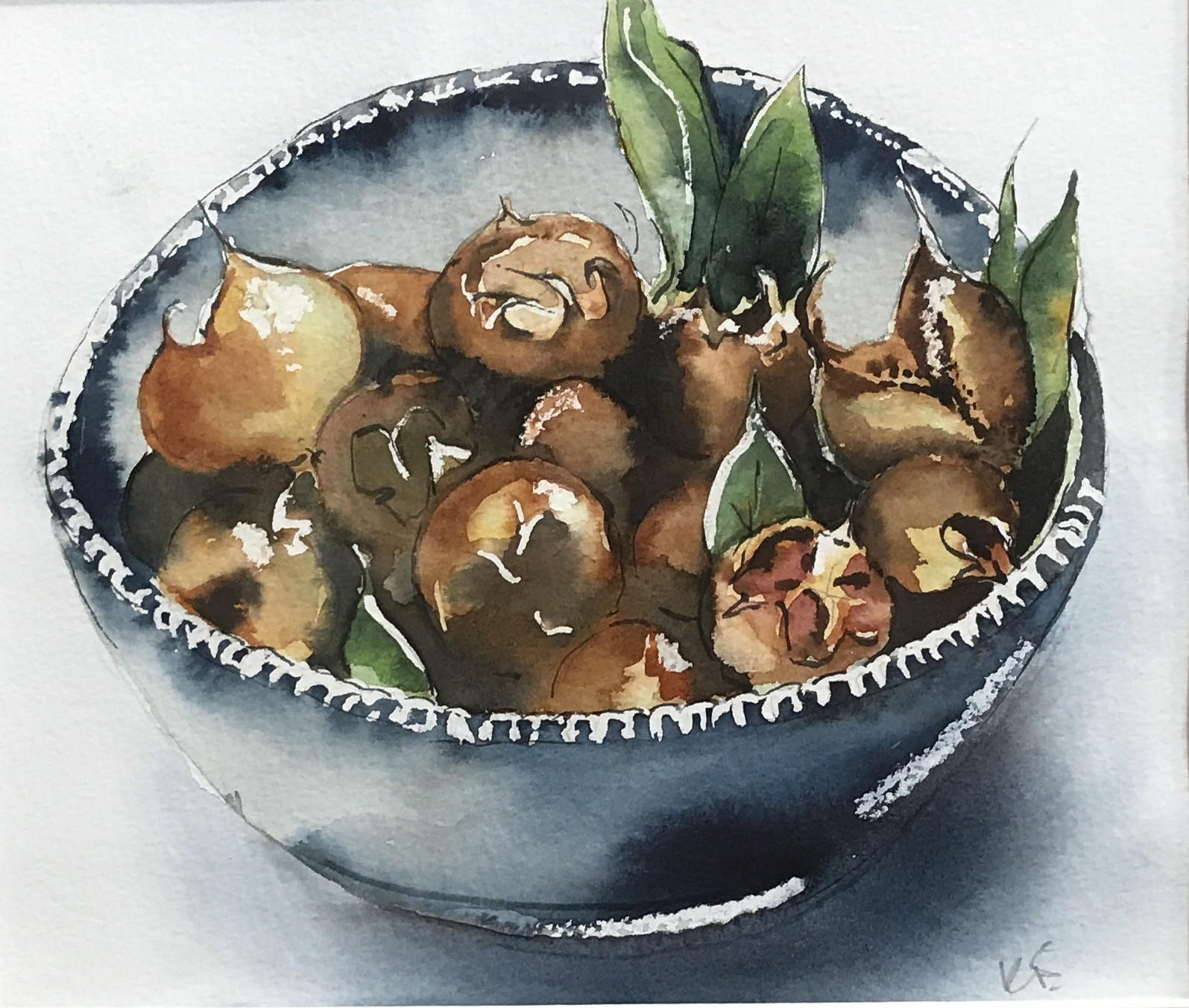 <span class=&#34;link fancybox-details-link&#34;><a href=&#34;/artists/33-kerry-edwards/works/76-kerry-edwards-bowl-of-medlars/&#34;>View Detail Page</a></span><div class=&#34;artist&#34;><strong>Kerry Edwards</strong></div> <div class=&#34;title&#34;><em>Bowl of Medlars</em></div> <div class=&#34;medium&#34;>Watercolour (framed)</div> <div class=&#34;dimensions&#34;>19 x 22 cm</div><div class=&#34;price&#34;>£130.00</div>