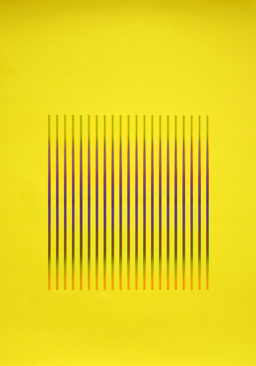 <span class=&#34;link fancybox-details-link&#34;><a href=&#34;/artists/168-julia-atkinson/works/2592-julia-atkinson-interchange-series-23-yellow-1975/&#34;>View Detail Page</a></span><div class=&#34;artist&#34;><strong>Julia Atkinson</strong></div> <div class=&#34;title&#34;><em>Interchange - Series 23 - Yellow</em>, 1975</div> <div class=&#34;medium&#34;>Screenprint on chromalux paer</div> <div class=&#34;dimensions&#34;>71 x 50 cm</div> <div class=&#34;edition_details&#34;>Edition of 20 (#2/20)</div><div class=&#34;price&#34;>£750.00</div><div class=&#34;copyright_line&#34;>Copyright The Artist</div>
