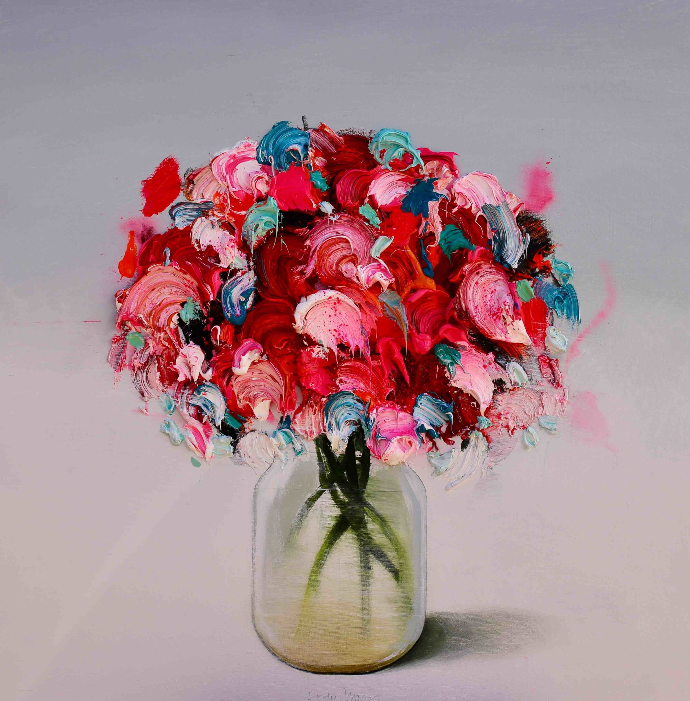 <span class=&#34;link fancybox-details-link&#34;><a href=&#34;/artists/195-fran-mora/works/2781-fran-mora-flores-rojos-red-flowers/&#34;>View Detail Page</a></span><div class=&#34;artist&#34;><strong>Fran Mora</strong></div> <div class=&#34;title&#34;><em>Flores Rojos (Red Flowers) </em></div> <div class=&#34;medium&#34;>Oil on Canvas (framed)</div> <div class=&#34;dimensions&#34;>80 x 80 cm</div><div class=&#34;copyright_line&#34;>Copyright The Artist</div>