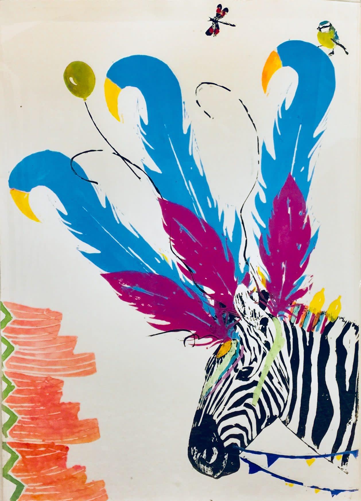 <span class=&#34;link fancybox-details-link&#34;><a href=&#34;/artists/39-millie-mccallum/works/2329-millie-mccallum-zebra-with-watermelon/&#34;>View Detail Page</a></span><div class=&#34;artist&#34;><strong>Millie McCallum</strong></div> <div class=&#34;title&#34;><em>Zebra with Watermelon</em></div> <div class=&#34;medium&#34;>Linocut 1/1 (framed)</div> <div class=&#34;dimensions&#34;>100 x 70 cm (paper size)</div><div class=&#34;price&#34;>£875.00</div><div class=&#34;copyright_line&#34;>Copyright The Artist</div>