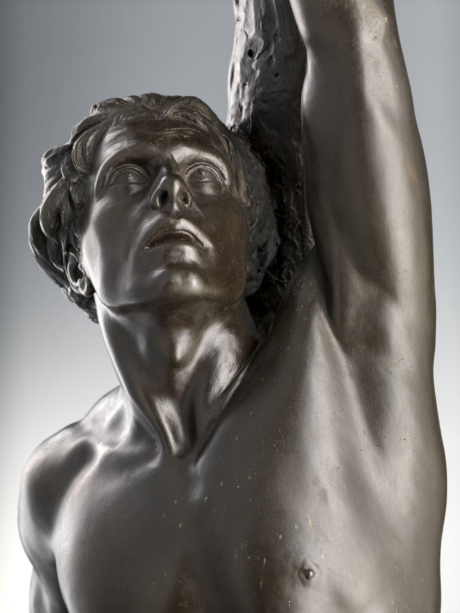 Antonio Pezzani Saint Sebastian 1933 Brun Fine Art