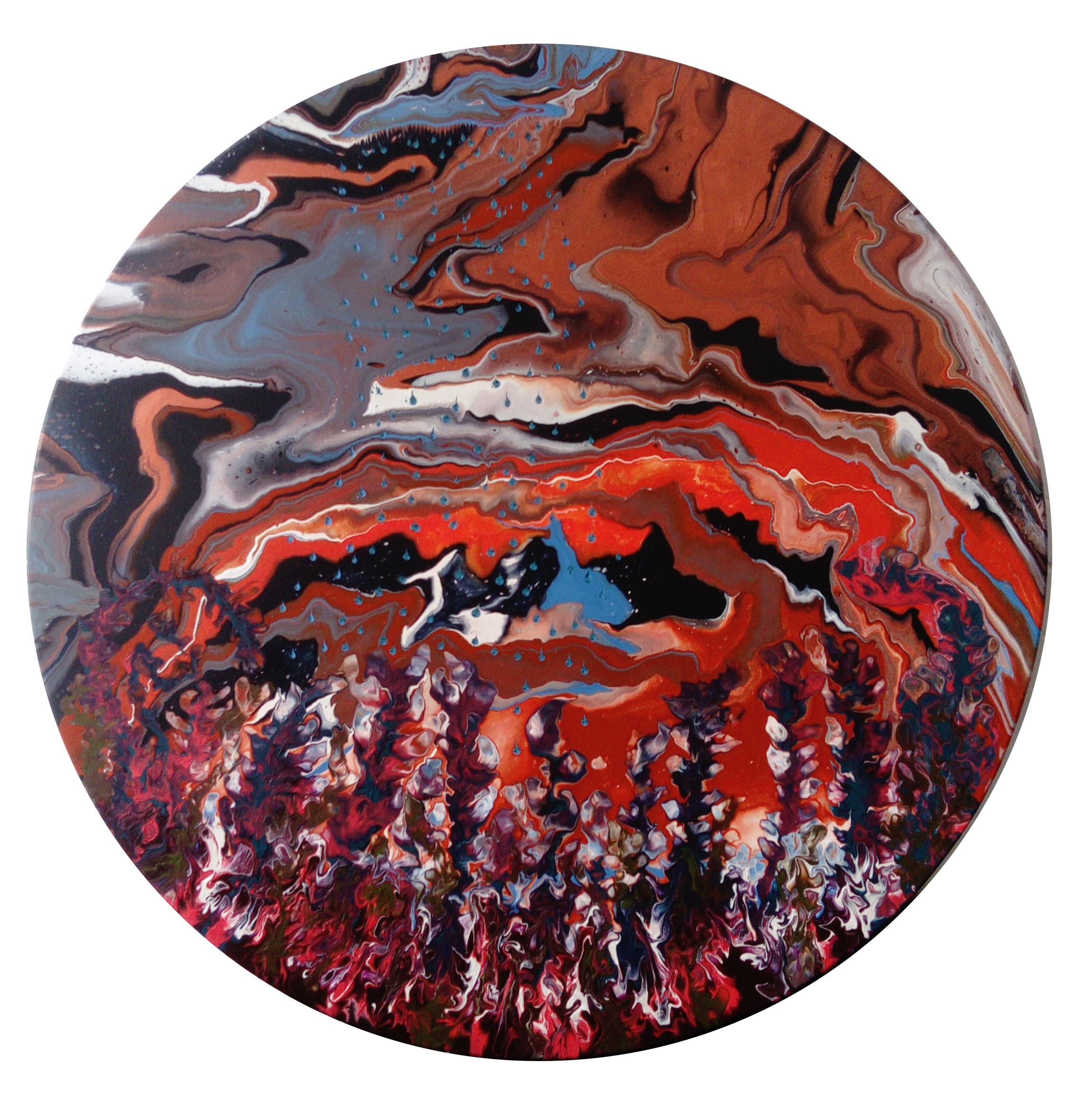 <span class=&#34;link fancybox-details-link&#34;><a href=&#34;/artists/66-elsa-duault/works/5376-elsa-duault-instant-120-4-2018/&#34;>View Detail Page</a></span><div class=&#34;artist&#34;><strong>Elsa Duault</strong></div> 1992 <div class=&#34;title&#34;><em>INSTANT 120-4</em>, 2018</div> <div class=&#34;medium&#34;>Acrylic on canvas</div> <div class=&#34;dimensions&#34;>120cm Diameter Framed: 1225mm diameter</div><div class=&#34;copyright_line&#34;>Copyright The Artist</div>