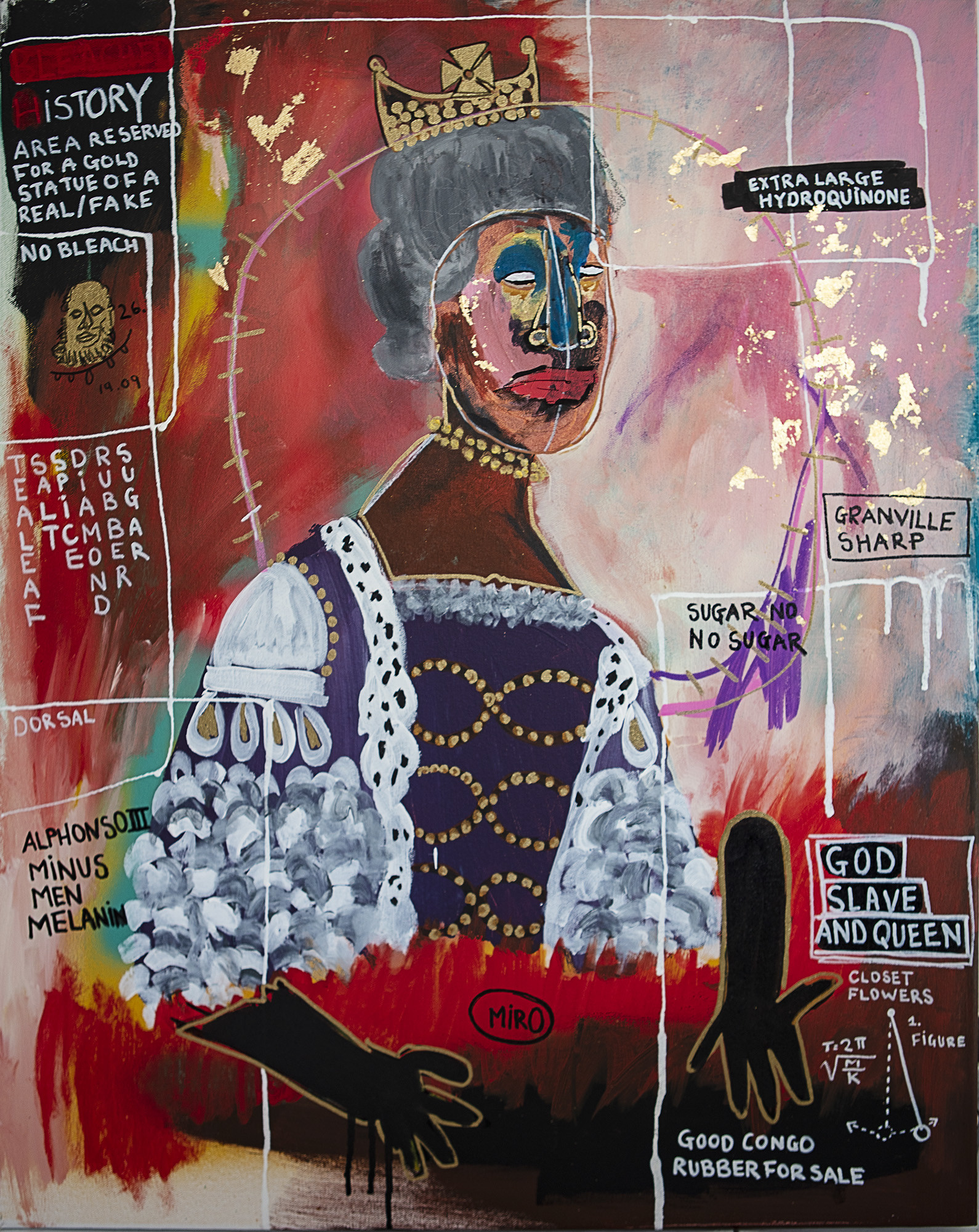 "<span class=""link fancybox-details-link""><a href=""/artists/121/series/other-works/7559-juan-stockenstroom-queen-mulatto-2019/"">View Detail Page</a></span><div class=""artist""><strong>Juan Stockenstroom</strong></div> <div class=""title""><em>Queen Mulatto</em>, 2019</div> <div class=""medium"">Acrylic and Ink on Canvas</div> <div class=""dimensions"">76x60cm</div>"