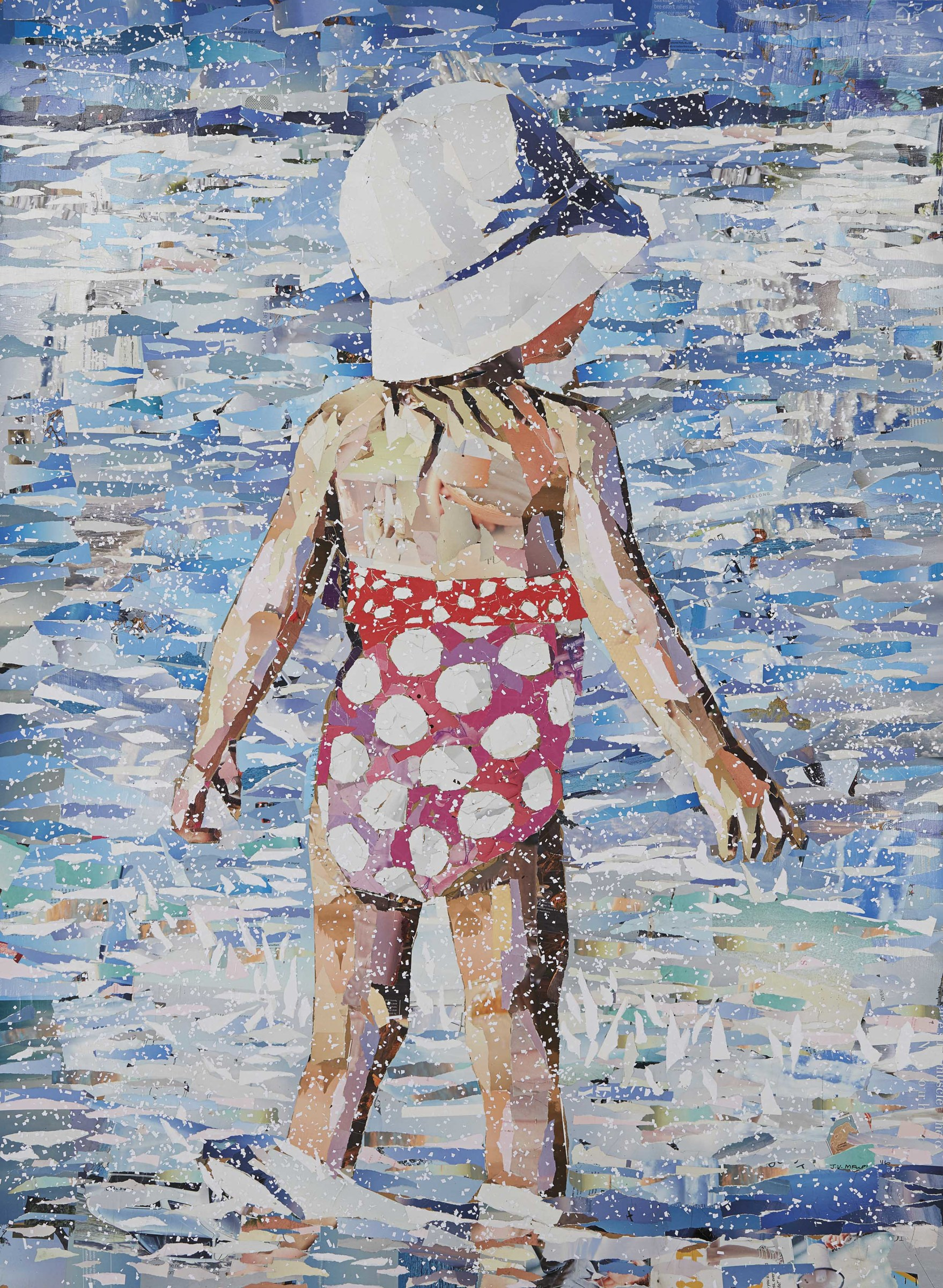 "<span class=""link fancybox-details-link""><a href=""/exhibitions/24/works/artworks2106/"">View Detail Page</a></span><div class=""artist""><strong>John Vusi Mfupi</strong></div> 1977-<div class=""title""><em>Snow At The Beach</em>, 2016</div><div class=""medium"">Magazine collage on paper</div><div class=""dimensions"">1520x1100mm</div>"