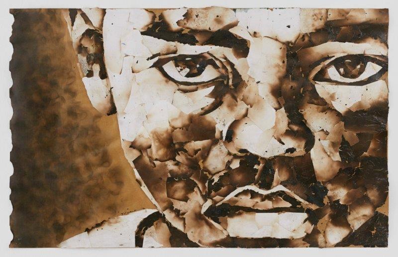 "<span class=""link fancybox-details-link""><a href=""/exhibitions/24/works/artworks1813/"">View Detail Page</a></span><div class=""artist""><strong>John Vusi Mfupi</strong></div> 1977-<div class=""title""><em>I Have A Dream</em>, 2016</div><div class=""medium"">burned paper collage</div><div class=""dimensions"">120x76cm</div>"