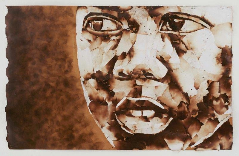 "<span class=""link fancybox-details-link""><a href=""/exhibitions/24/works/artworks1807/"">View Detail Page</a></span><div class=""artist""><strong>John Vusi Mfupi</strong></div> 1977-<div class=""title""><em>Living the Dream</em>, 2016</div><div class=""medium"">burned paper collage</div><div class=""dimensions"">120x76cm</div>"