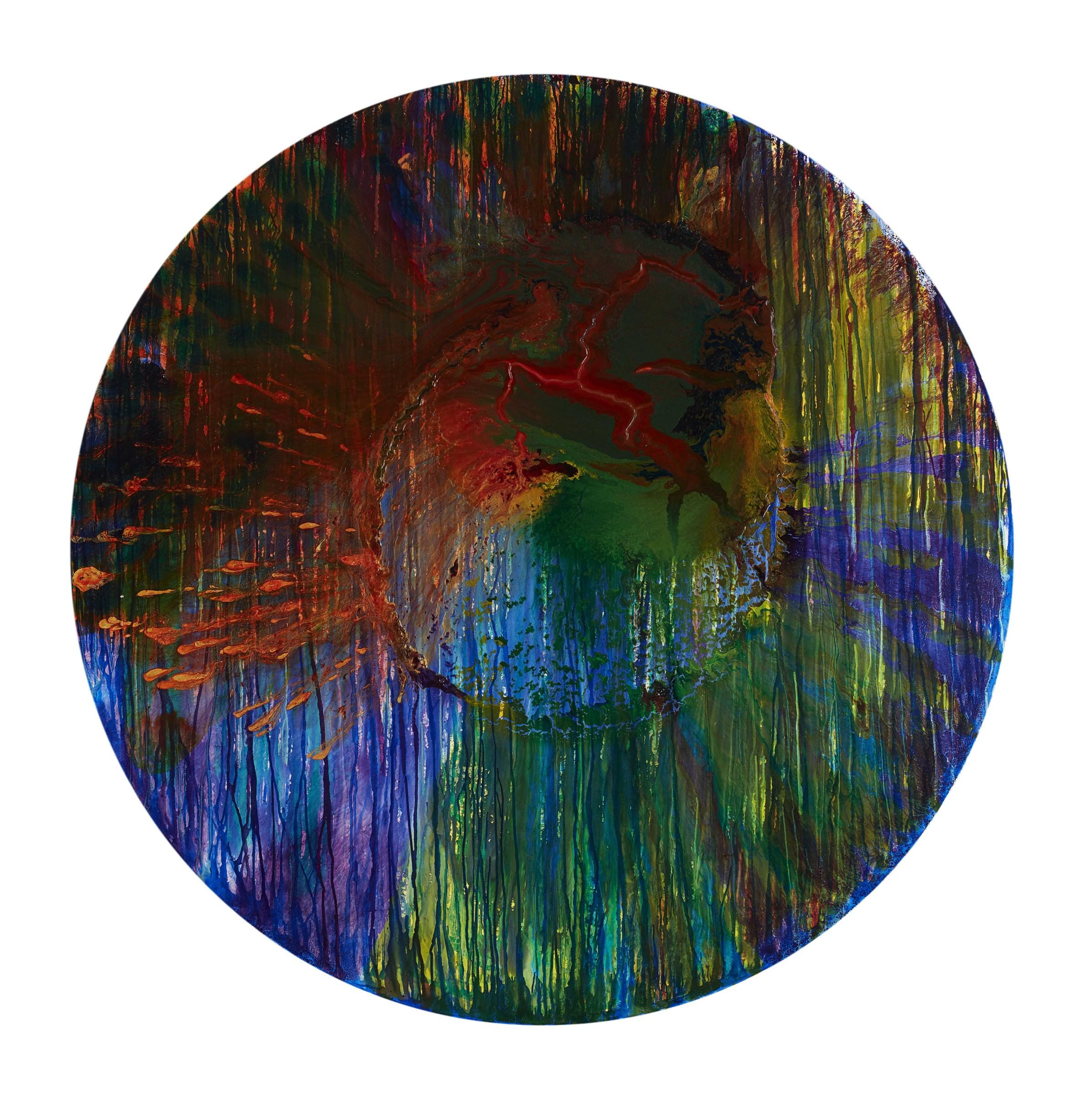 <span class=&#34;link fancybox-details-link&#34;><a href=&#34;/artists/66-elsa-duault/works/6715-elsa-duault-texture-and-time-1-2018/&#34;>View Detail Page</a></span><div class=&#34;artist&#34;><strong>Elsa Duault</strong></div> <div class=&#34;title&#34;><em>Texture and Time 1</em>, 2018</div> <div class=&#34;medium&#34;>Ink and Transparent Coat on Canvas</div> <div class=&#34;dimensions&#34;>Unframed Diameter: 180cm</div>
