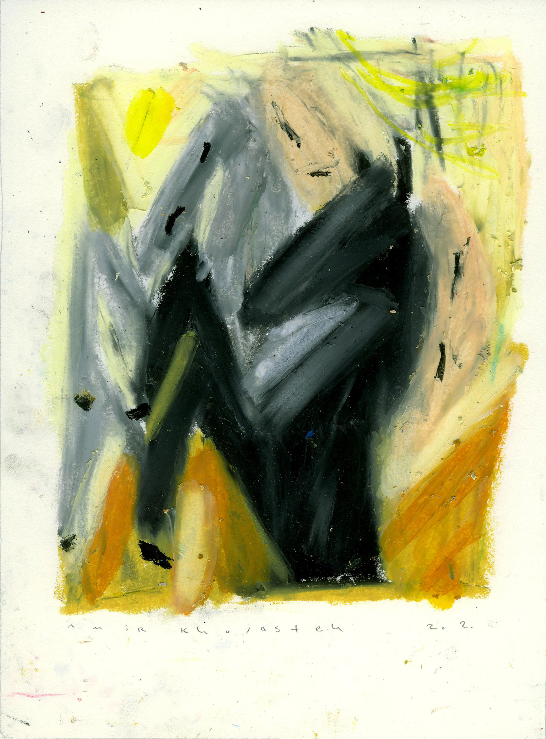 """<span class=""""link fancybox-details-link""""><a href=""""/exhibitions/121/works/artworks2518/"""">View Detail Page</a></span><div class=""""medium"""">Oil and pastel on paper</div> <div class=""""dimensions"""">27 x 20 cm<br /> 10 5/8 x 7 7/8 in</div>"""