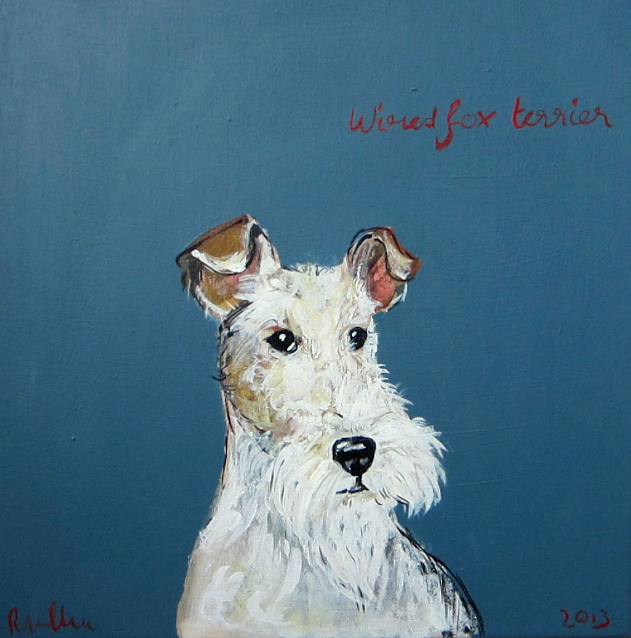 Robert Clarke, Wire Haired Fox Terrier (Dew Pond Restaurant ...