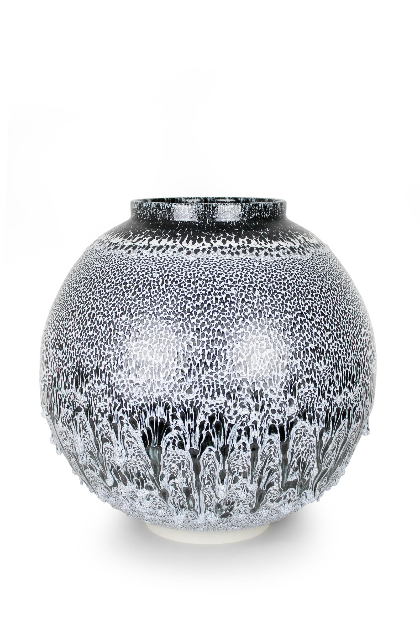 "<span class=""link fancybox-details-link""><a href=""/exhibitions/45/works/artworks2918/"">View Detail Page</a></span><div class=""artist""><strong>Albert Montserrat</strong></div><div class=""title""><em>Winter Jar</em>, 2019</div><div class=""medium"">Thrown and Glazed Porcelain</div><div class=""dimensions"">49 x 51 x 51 cm<br>19 1/4 x 20 1/8 x 20 1/8 in.</div>"
