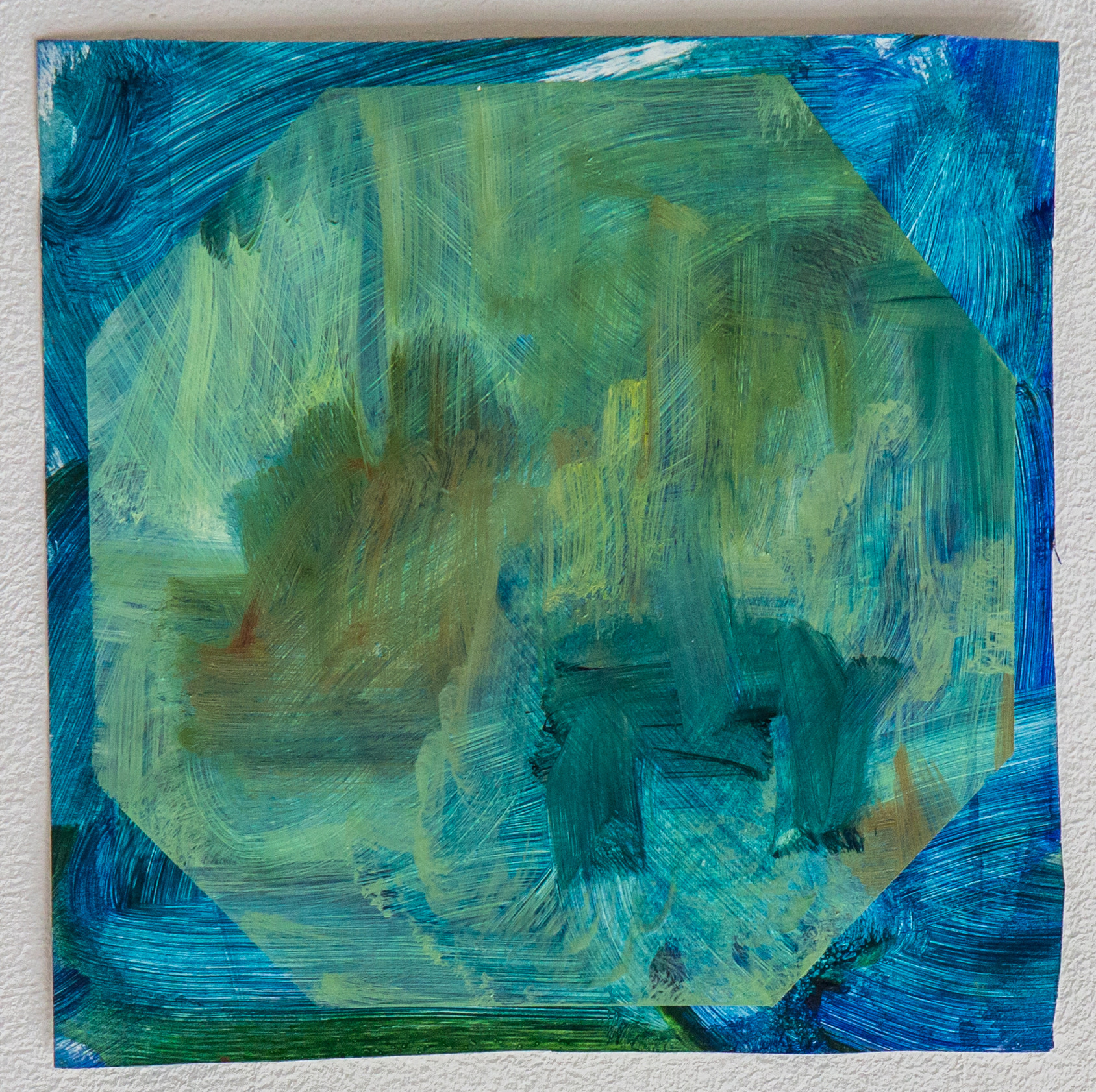 """<span class=""""link fancybox-details-link""""><a href=""""/artists/118-kate-dunn/works/2843/"""">View Detail Page</a></span><div class=""""artist""""><strong>Kate Dunn</strong></div> <div class=""""title""""><em>The Still Waters I Wrap My Lips</em>, 2018</div> <div class=""""medium"""">Acrylic Paint and Oil Paint on Paper</div> <div class=""""dimensions"""">28.2 x 28.2 cm<br /> 11 1/8 x 11 1/8 in.</div><div class=""""copyright_line"""">Copyright The Artist</div>"""