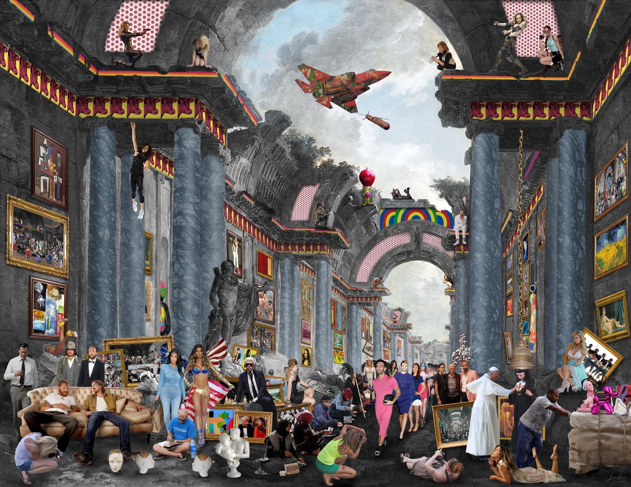"<span class=""link fancybox-details-link""><a href=""/artists/30-lluis-barba/works/559/"">View Detail Page</a></span><div class=""artist""><strong>Lluís Barba</strong></div> <div class=""title""><em>Louvre in Ruins, Robert Hubert</em>, 2015</div> <div class=""medium"">C-Type Print, Diasec Mounted<br />  </div> <div class=""dimensions"">181.1 x 242.1 cm<br />71 1/4 x 95 1/4 in.</div> <div class=""edition_details"">Edition of 6</div><div class=""copyright_line"">Copyright The Artist</div>"