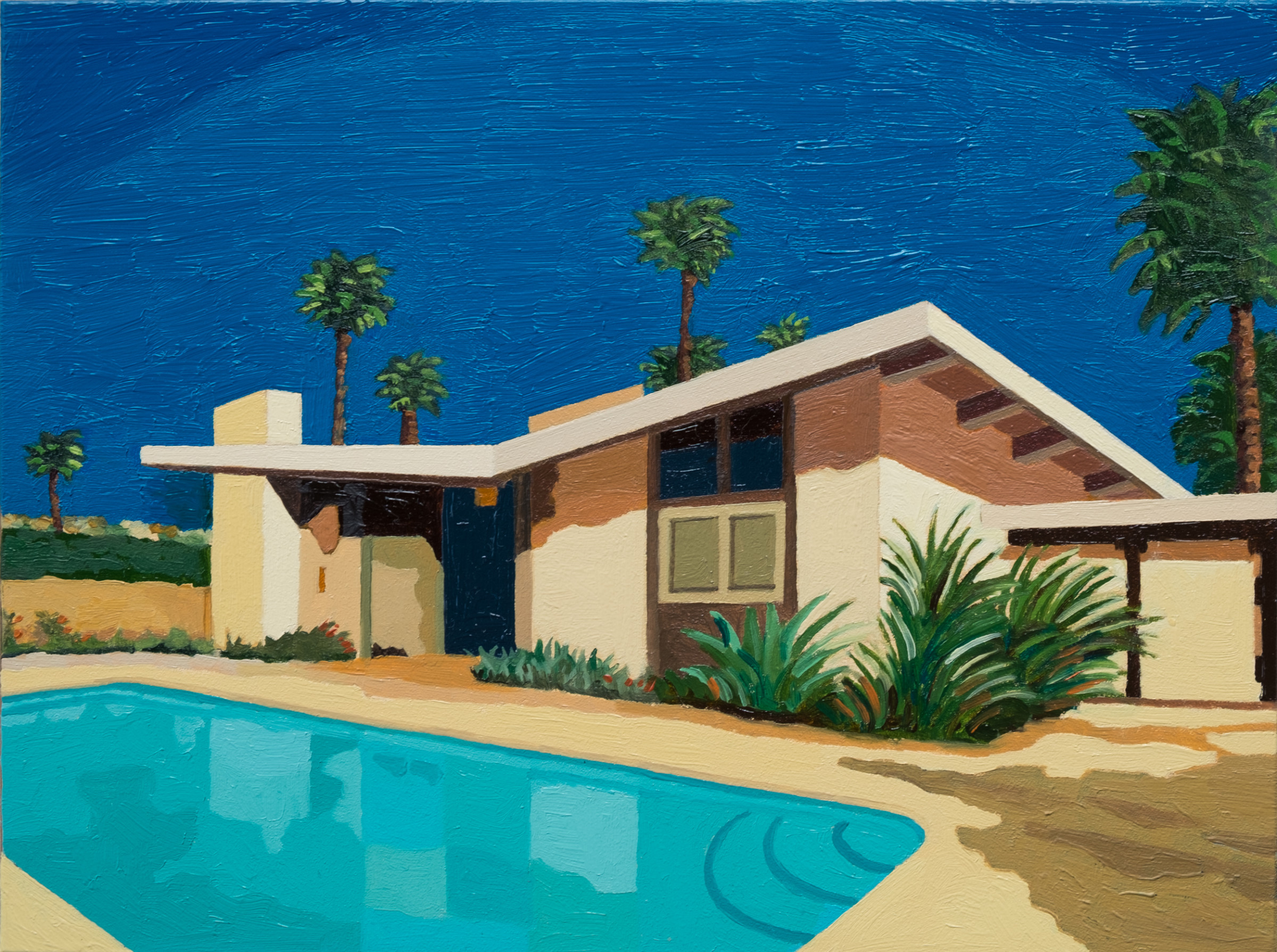 "<span class=""link fancybox-details-link""><a href=""/exhibitions/42/works/artworks2788/"">View Detail Page</a></span><div class=""artist""><strong>Andy Burgess</strong></div><div class=""title""><em>Palm Springs Ranch House II</em>, 2016</div><div class=""signed_and_dated"">Signed verso in ink</div><div class=""medium"">Oil on Panel</div><div class=""dimensions"">15.2 x 20.3 cm<br>6 x 8 in.</div>"