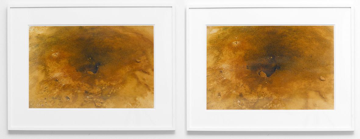 <span class=&#34;link fancybox-details-link&#34;><a href=&#34;/artists/32-roni-horn/works/14055/&#34;>View Detail Page</a></span><div class=&#34;artist&#34;><strong>RONI HORN</strong></div> <div class=&#34;title&#34;><em>Becoming a Landscape (1)</em>, 1999</div> <div class=&#34;medium&#34;>2 c-prints</div> <div class=&#34;dimensions&#34;>37 x 56 cm each</div> <div class=&#34;edition_details&#34;>Edition of 7</div>