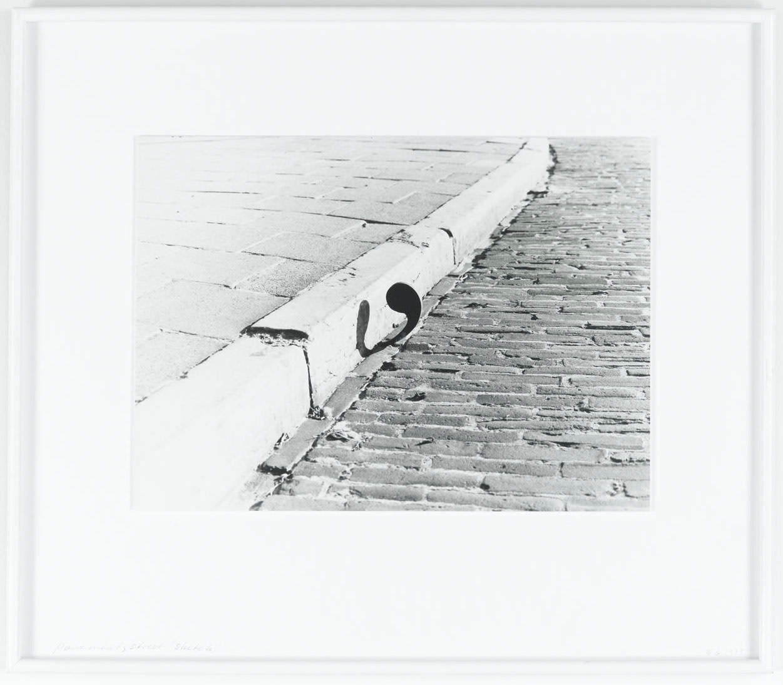 <span class=&#34;link fancybox-details-link&#34;><a href=&#34;/artists/30-sigurur-gumundsson/works/6544/&#34;>View Detail Page</a></span><div class=&#34;artist&#34;><strong>SIGURÐUR GUÐMUNDSSON</strong></div> <div class=&#34;title&#34;><em>Pavement, street</em>, 1973</div> <div class=&#34;medium&#34;>b/w photograph</div> <div class=&#34;dimensions&#34;>52 x 60 cm</div> <div class=&#34;edition_details&#34;></div>